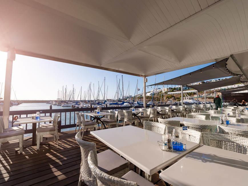 Cape Town Fish Market Restaurant in Club Mykonos