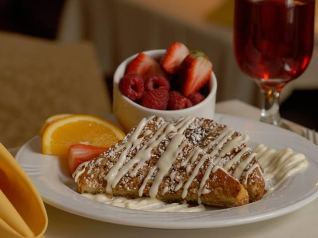 Oatmeal Encrusted French Toast