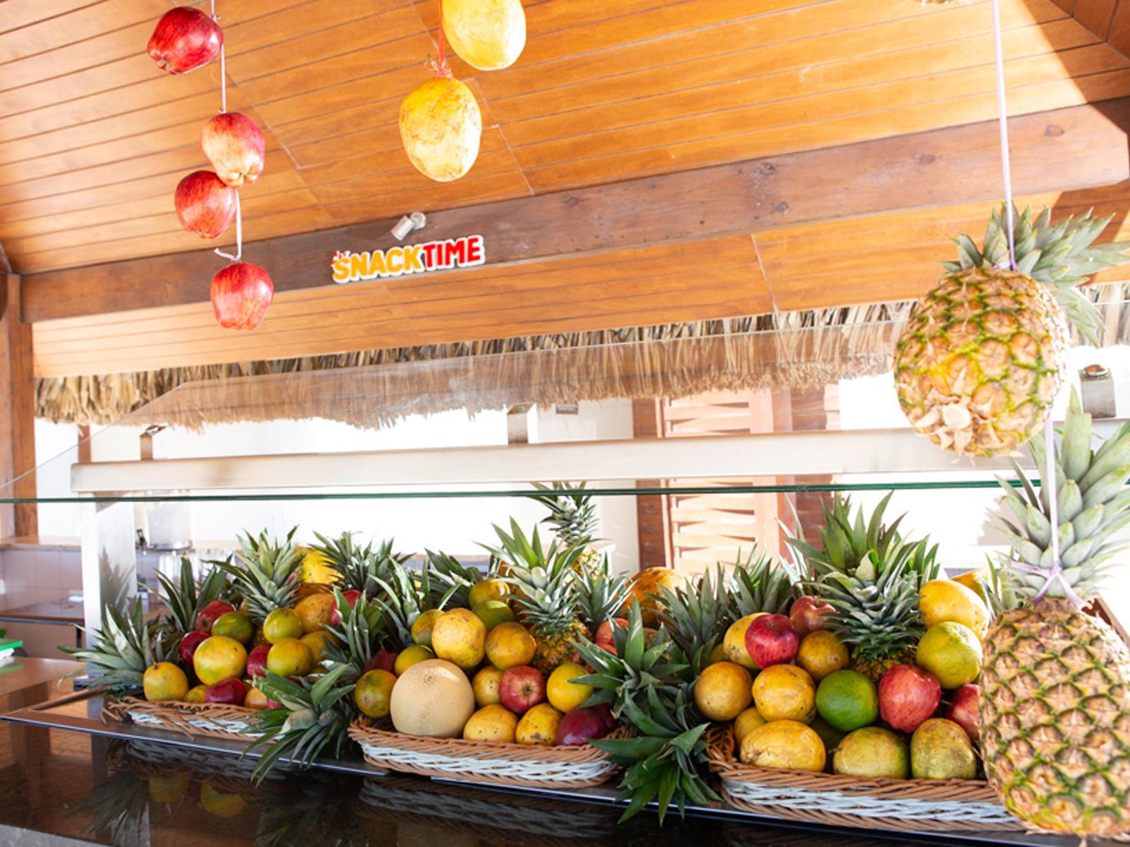 Barra con frutas