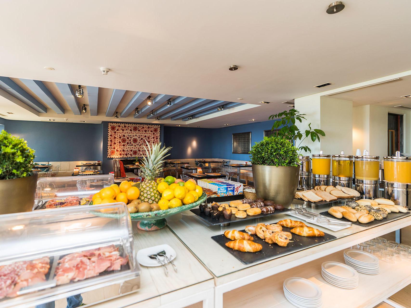 Breakfast Buffet at Hotel Club Maritimo de Sotogrande, Cádiz, Spain