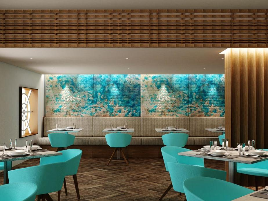 Restaurant at Jouri, A Murwab Hotel in Doha, Qatar
