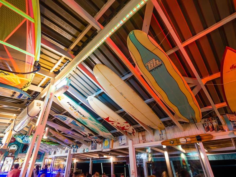Marc's Beach Bar  in Club Mykonos