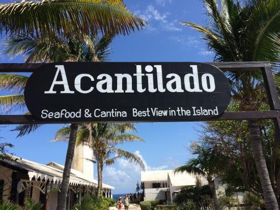 Acantilado Signage