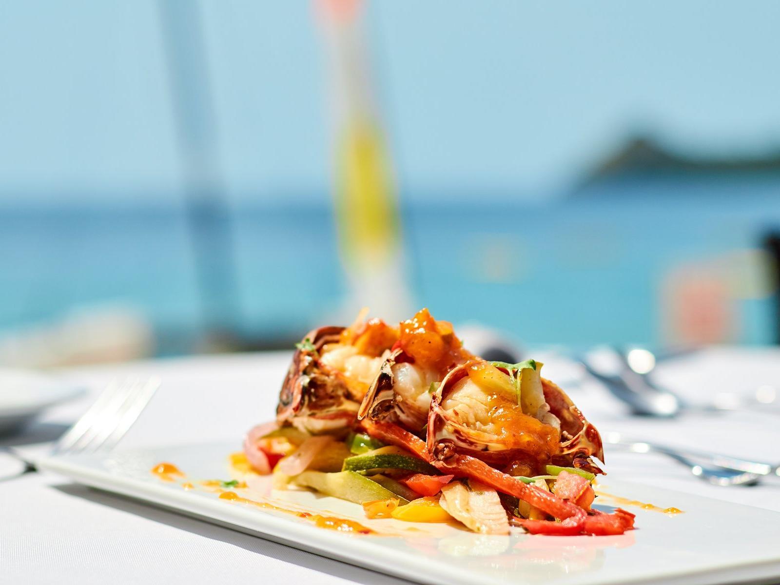 hi-tide restaurant dish