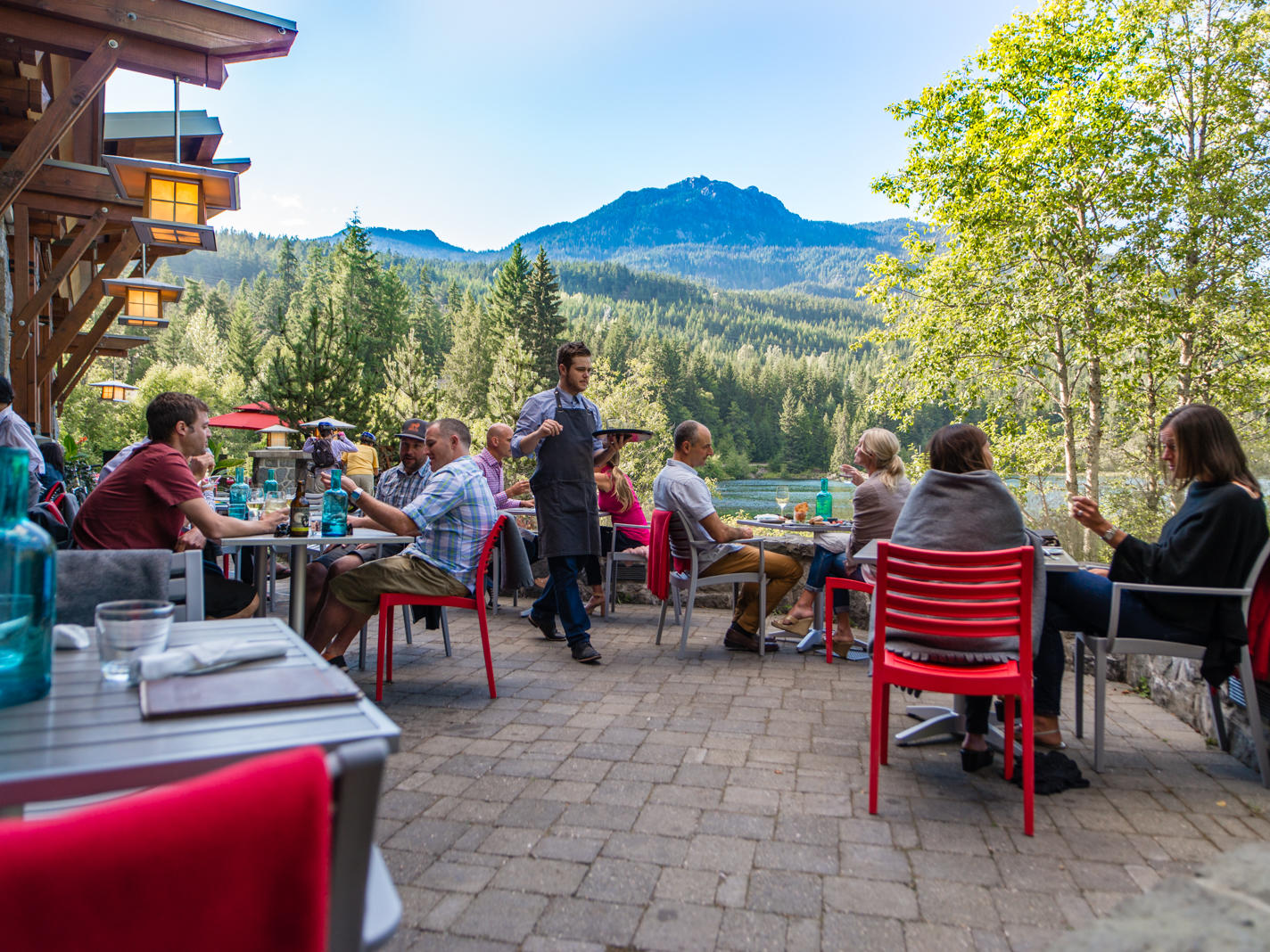 Cure Patio Whistler