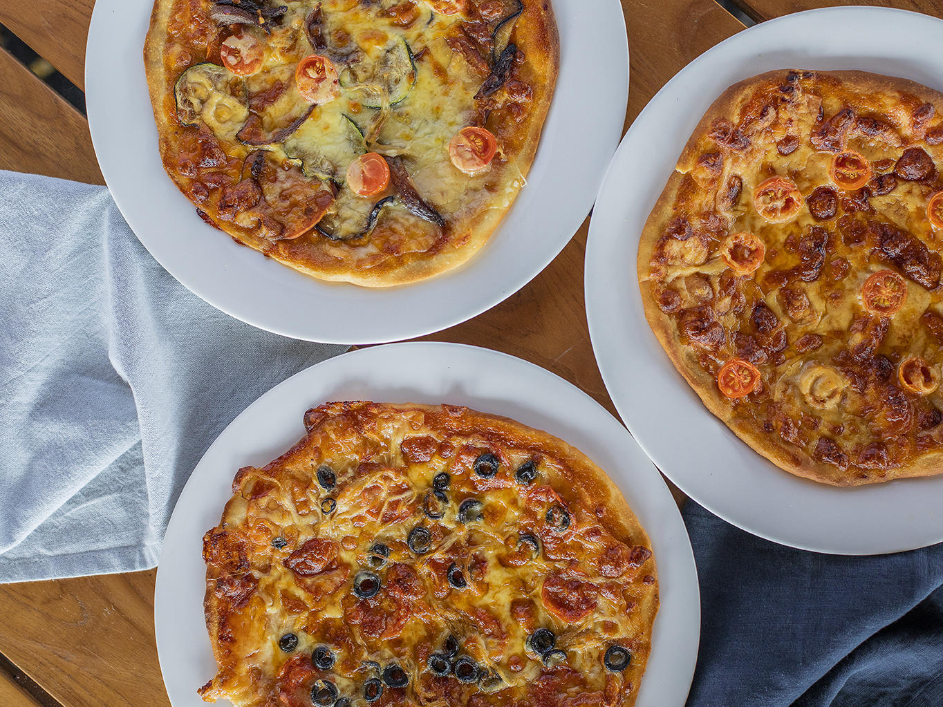 Inkstone Kitchen Menu - Pizzas