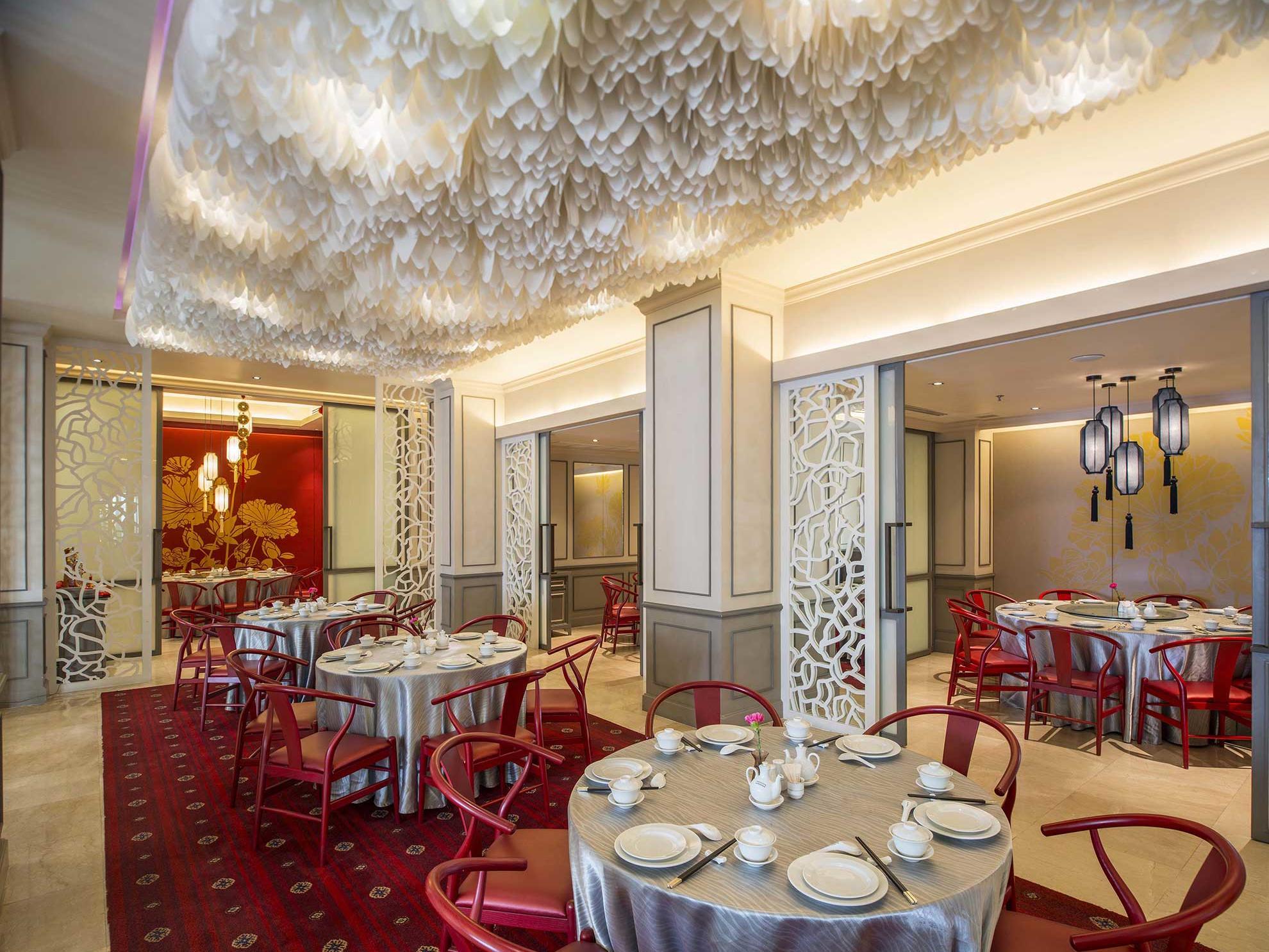 View of Tiger Hill Restaurant at Chatrium Hotel Royal Lake