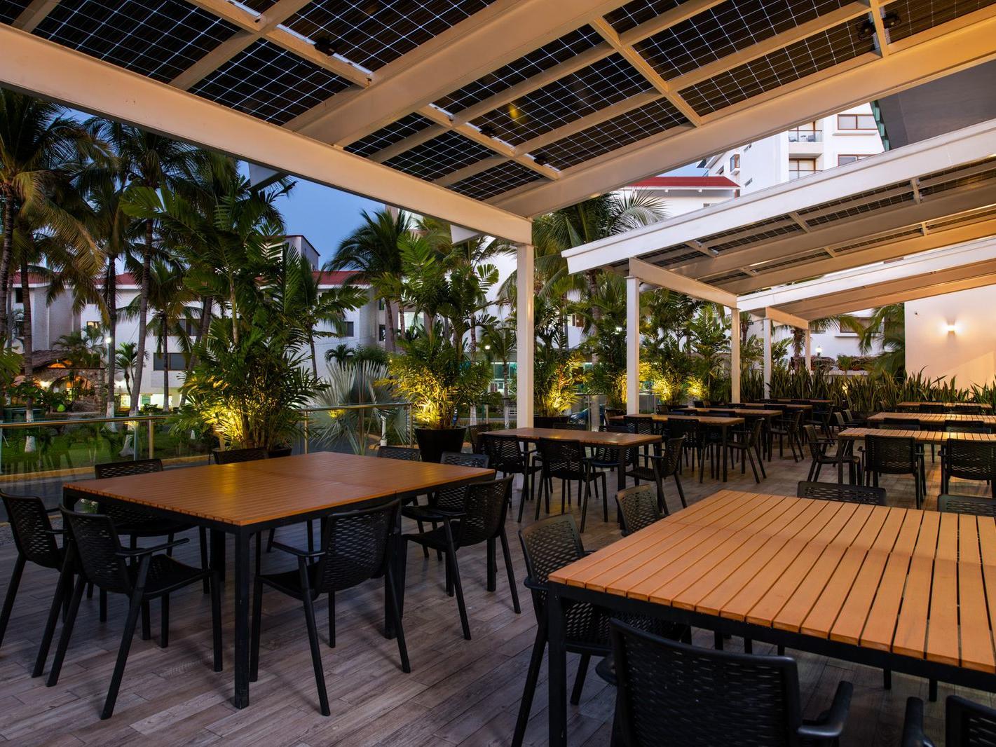 hotel Villa varadero restaurante
