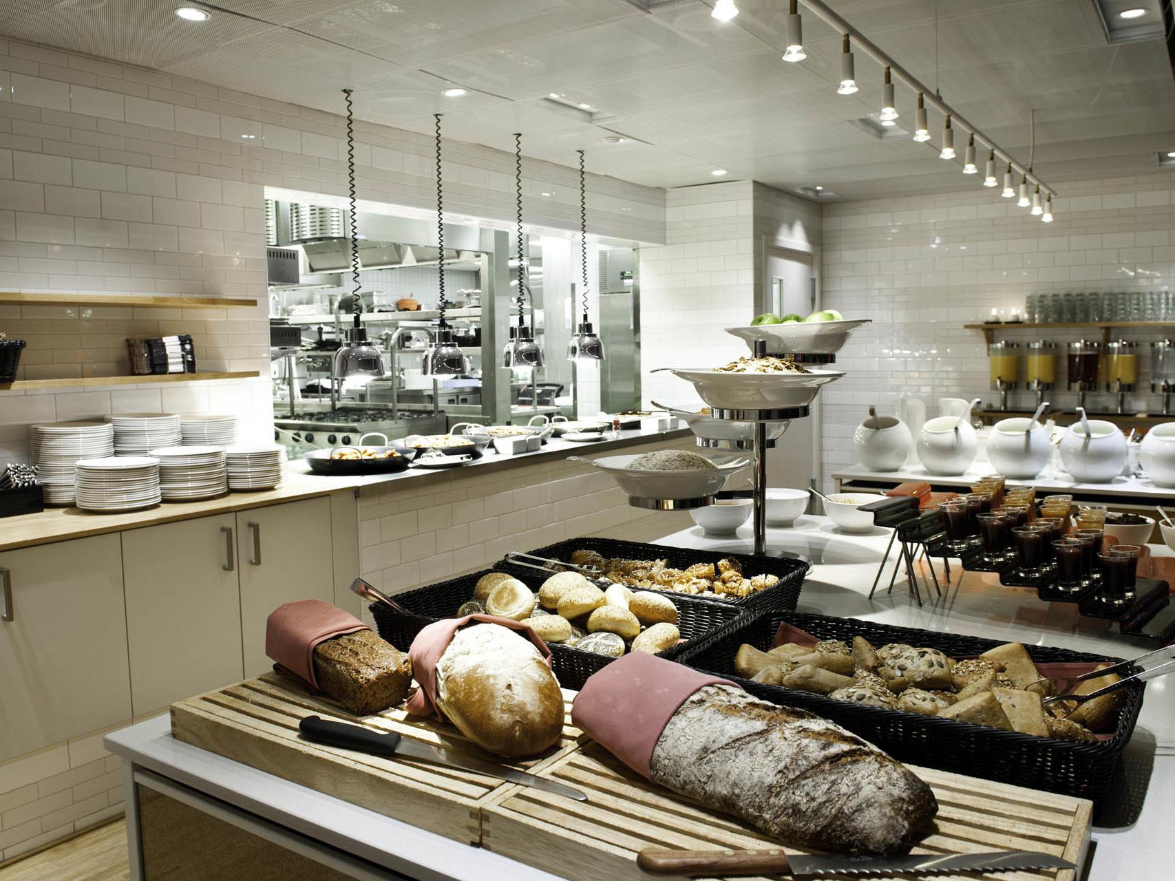Daily Buffet Breakfast at Hotel Birger Jarl in Stockholm, Sweden