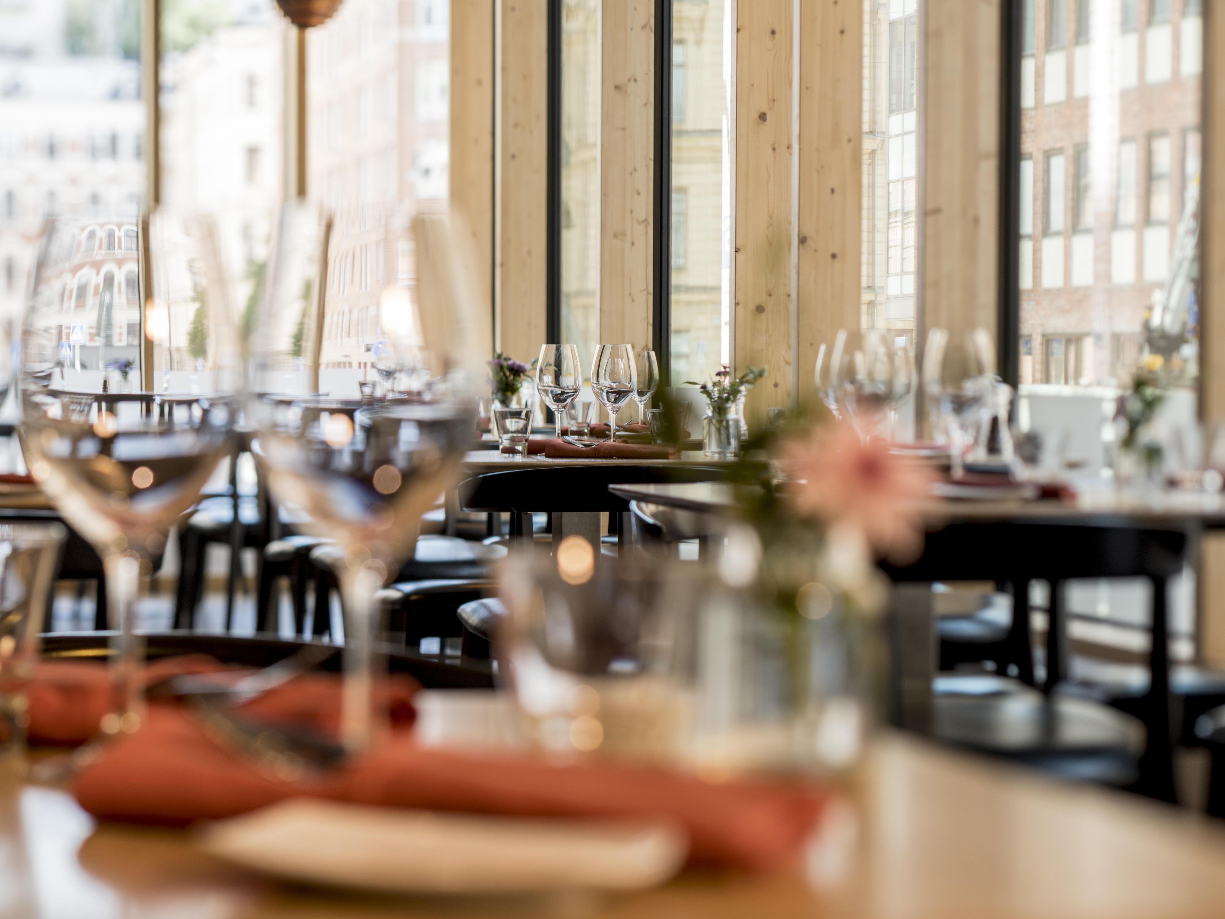 Lunch at Hotel Birger Jarl in Stockholm, Sweden