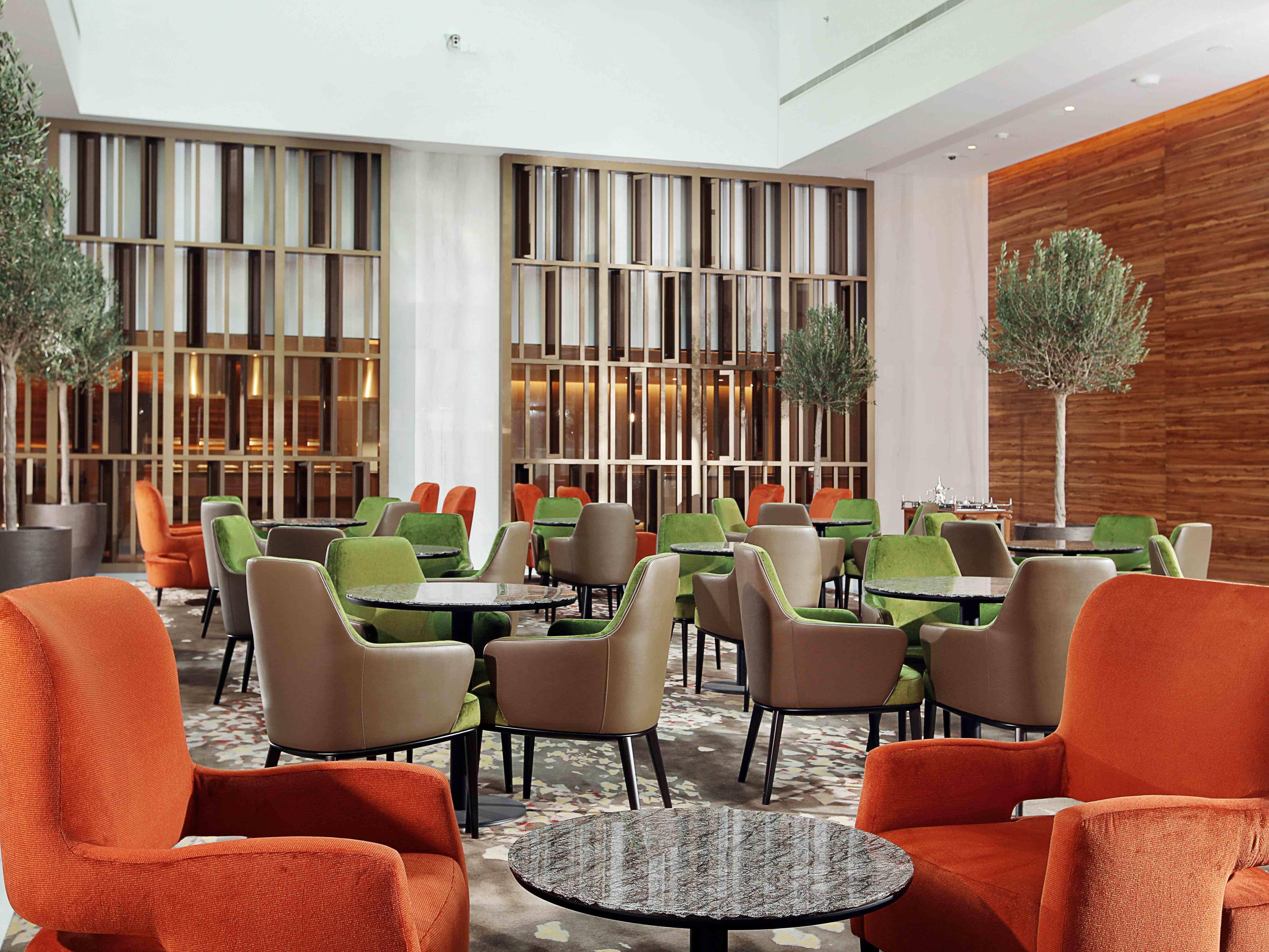 Americano Cafe & Lounge at Grand Cosmopolitan Hotel in Dubai