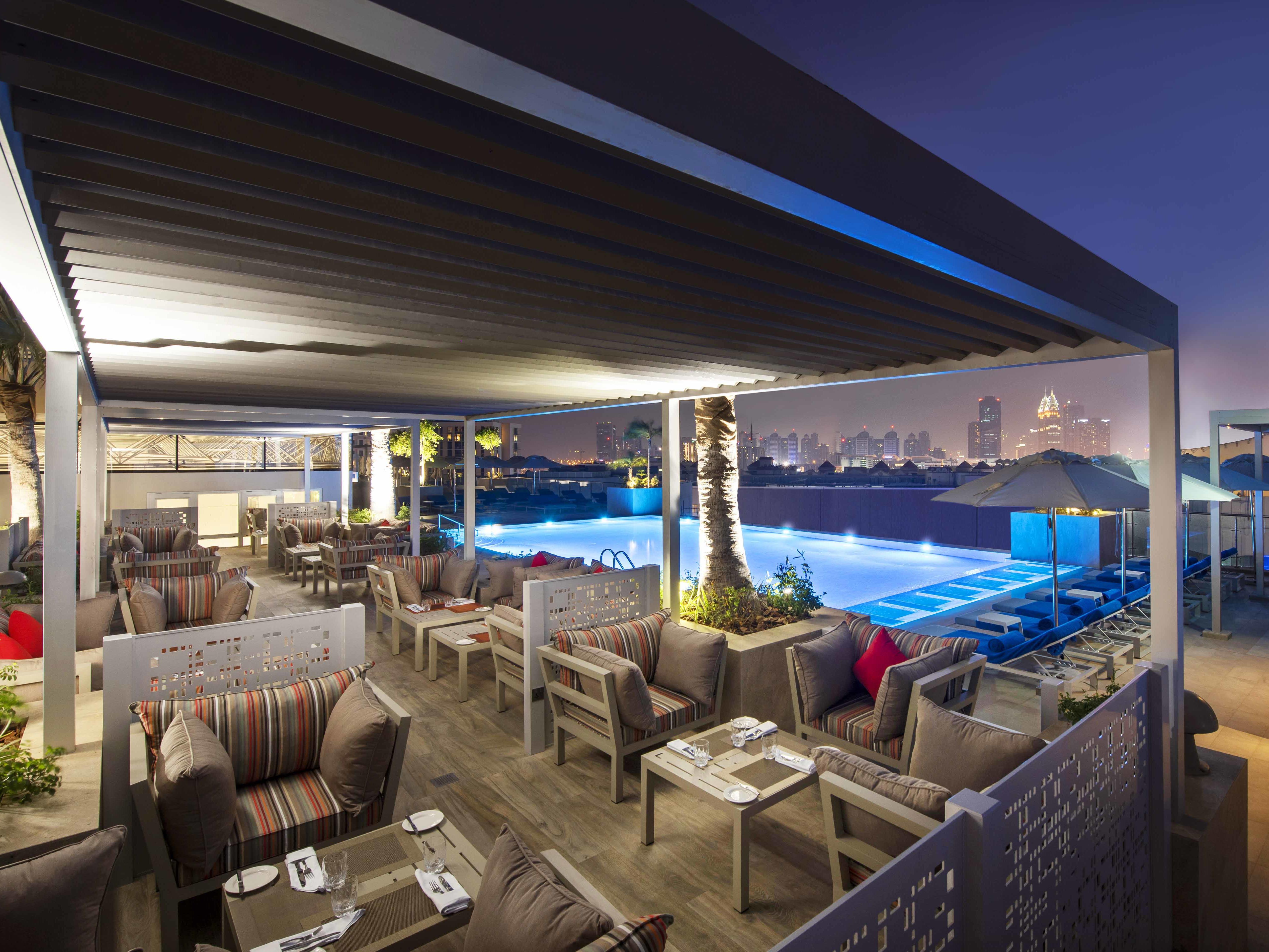 Pacifico Terrace at Grand Cosmopolitan Hotel in Dubai