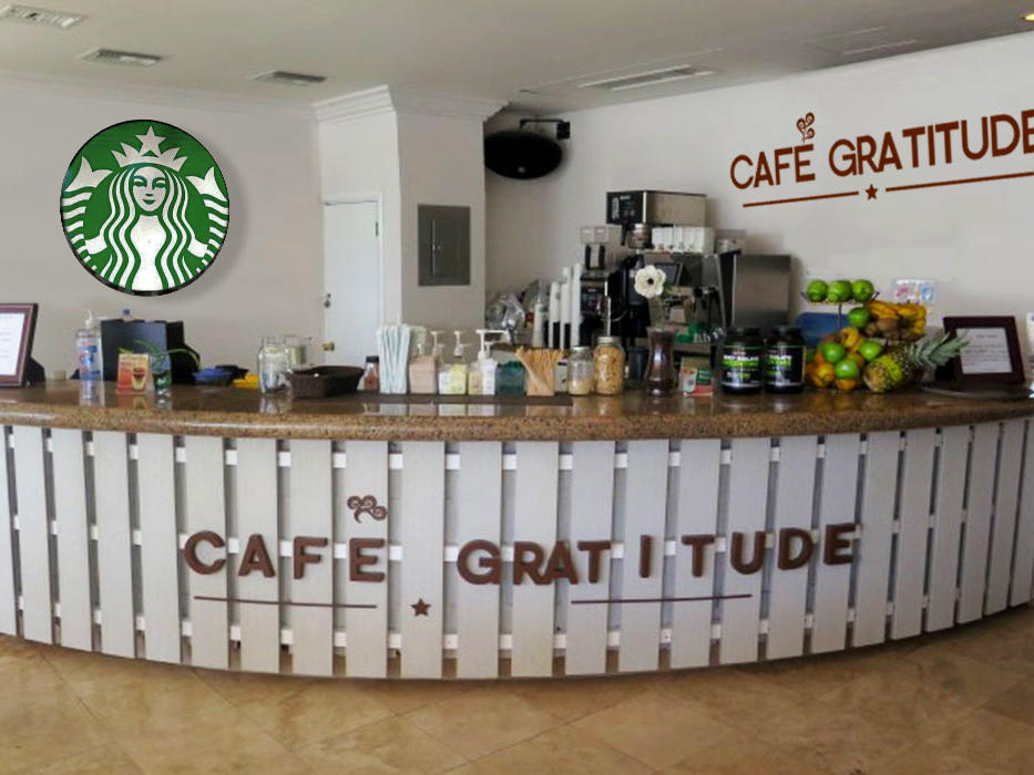 Gratitude Starbucks Cafe