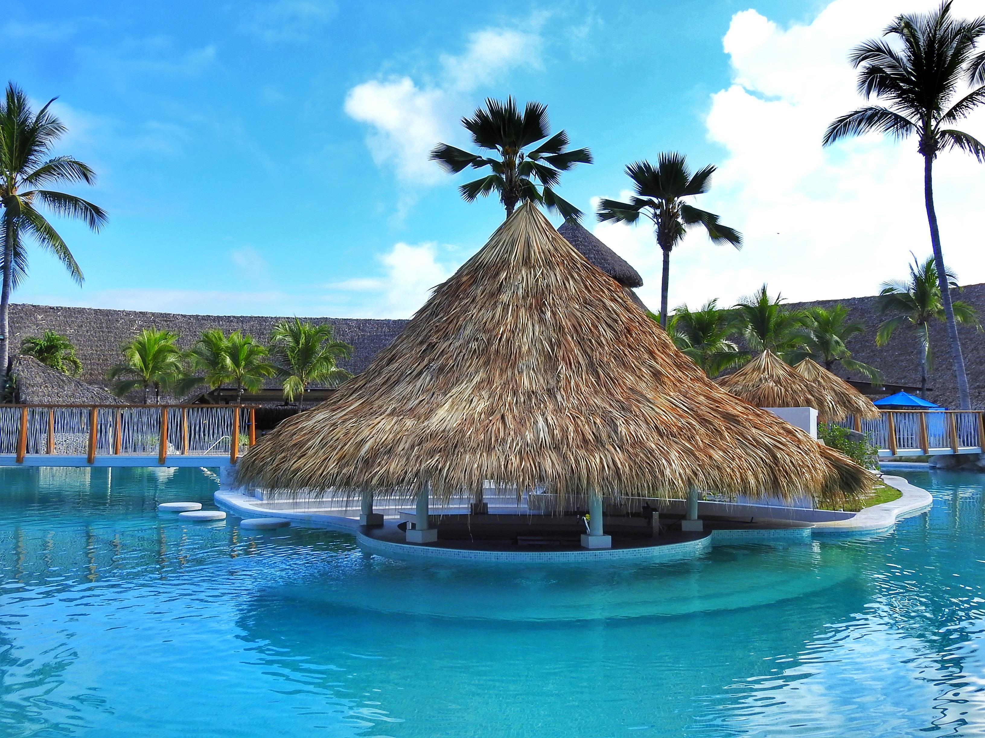 Beautiful Bar with pool at Fiesta Resort