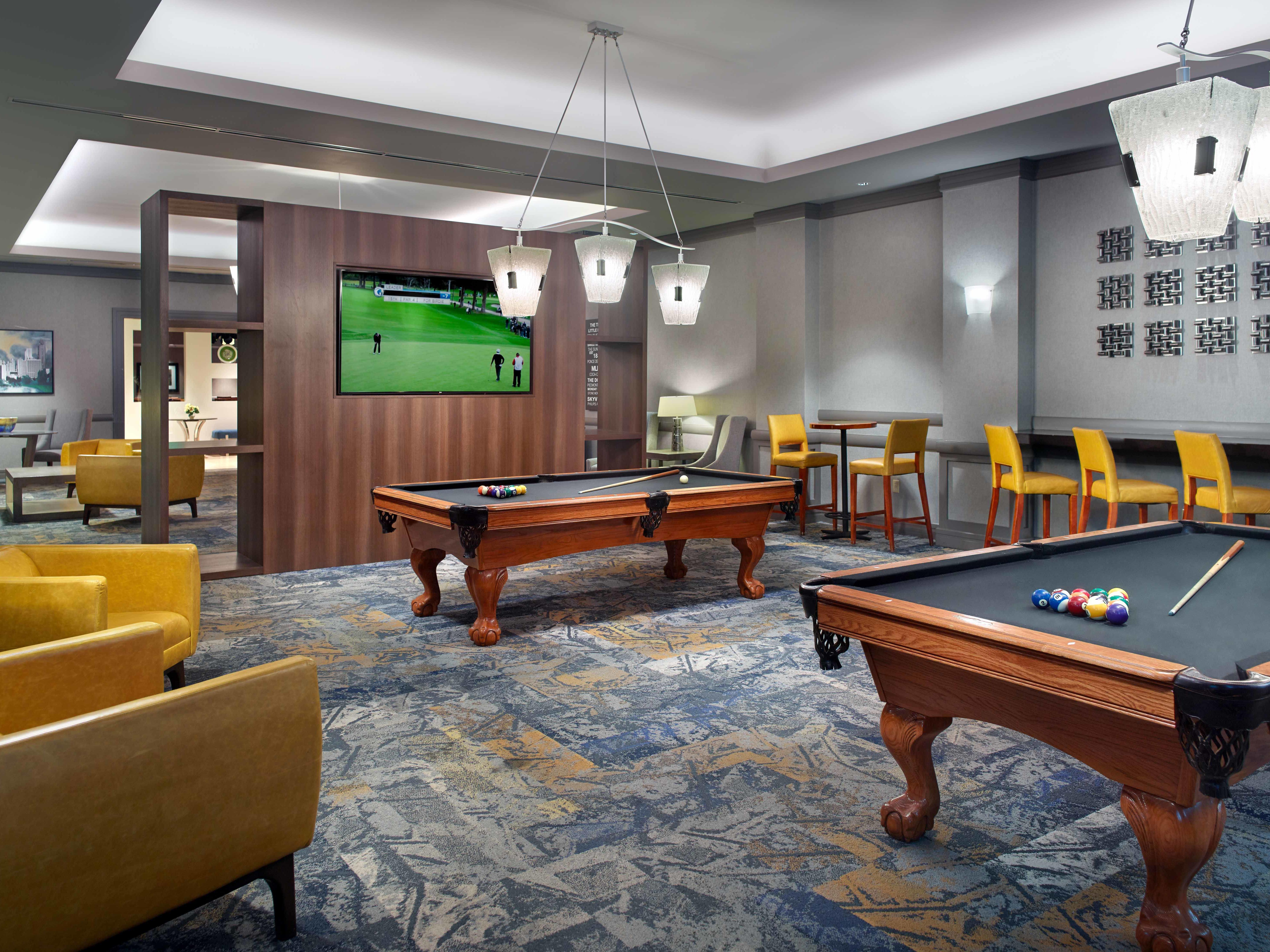 Club Room Pool Tables