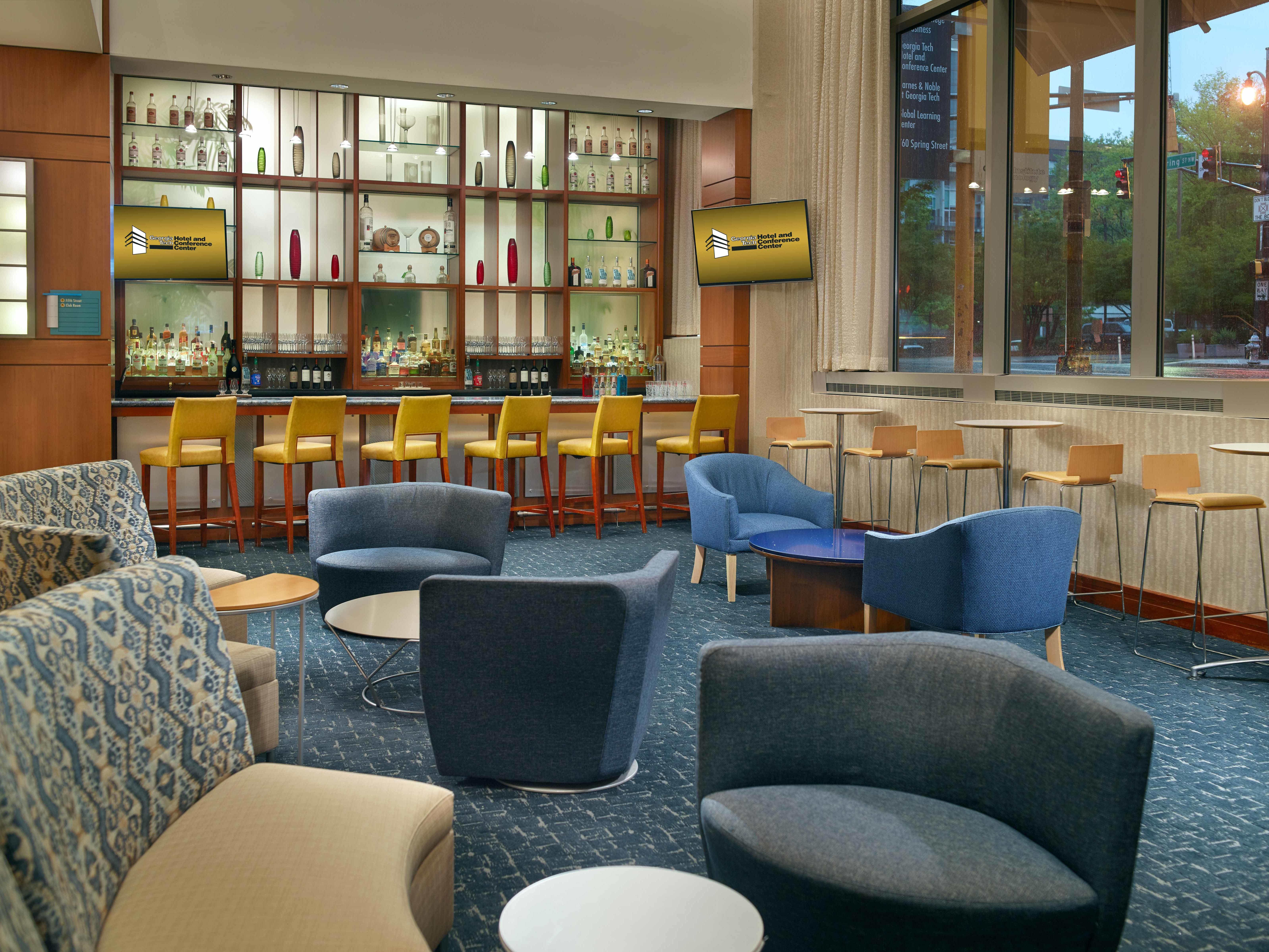 Georgia Tech Hotel Lobby Lounge