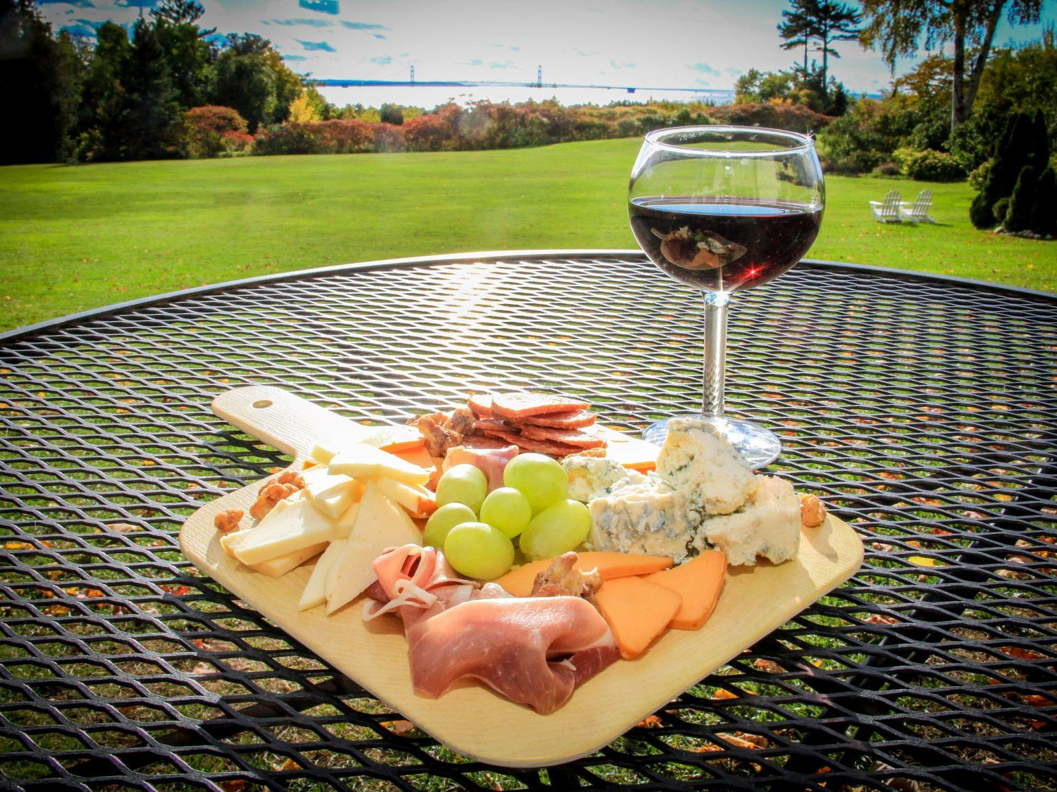 The Lawn Wine & Cheese