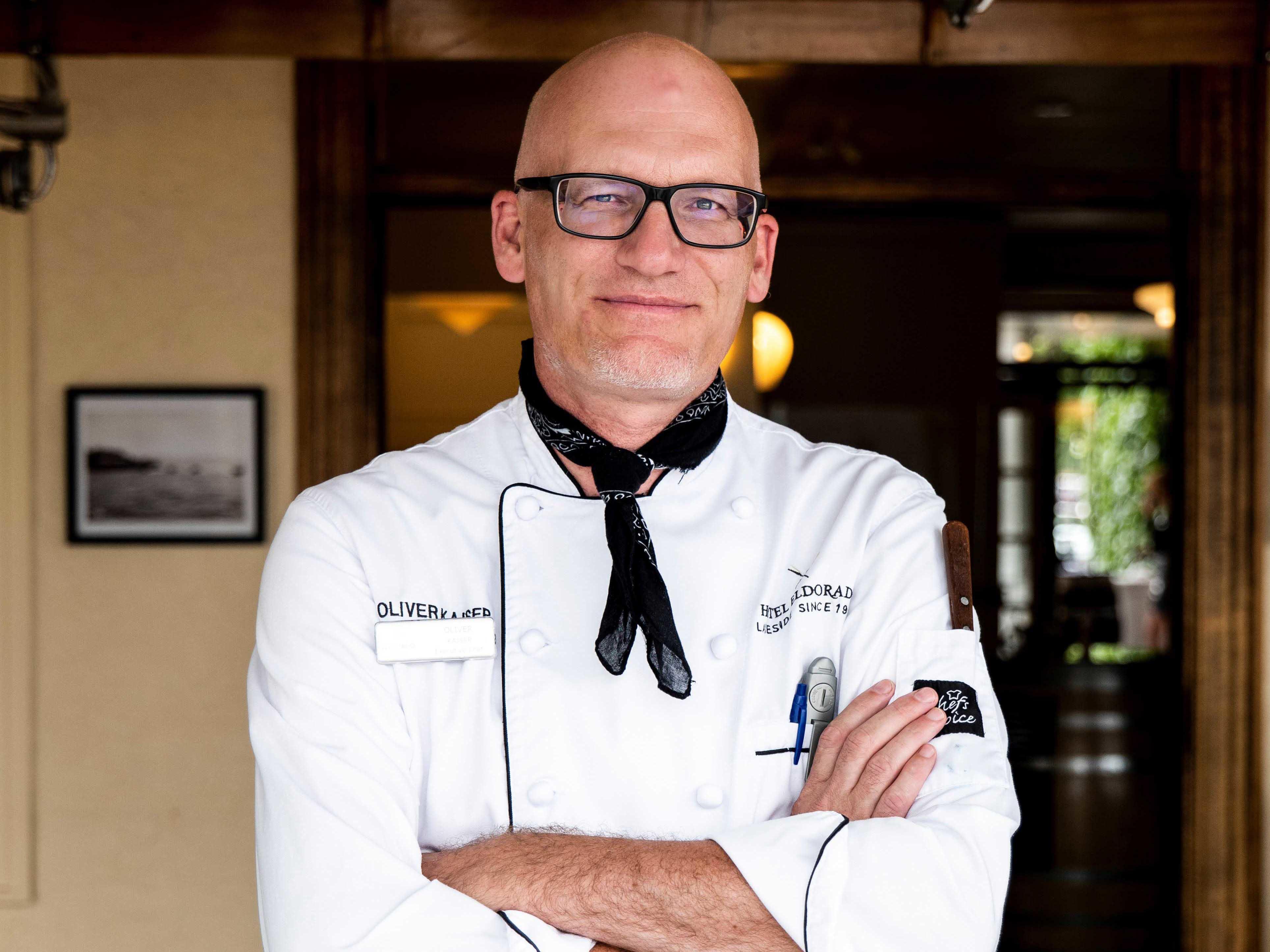 Chef Oliver Kaiser