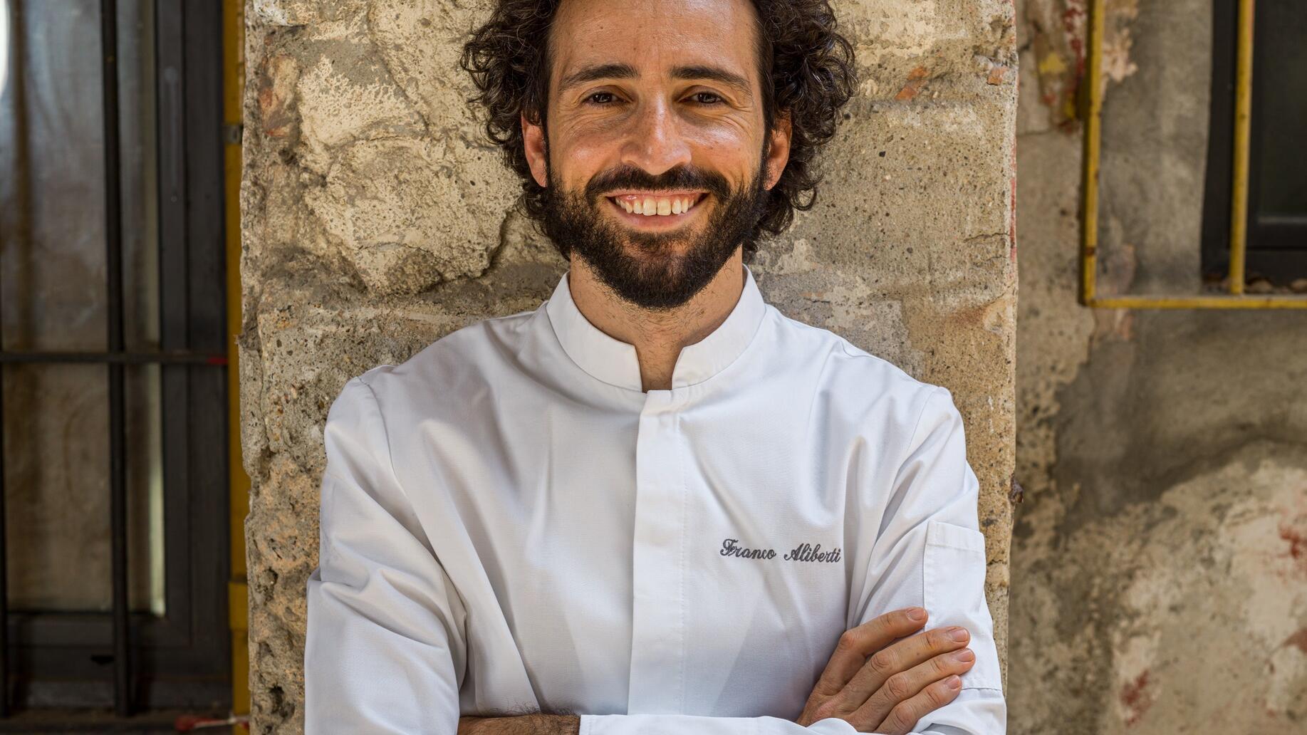 Milano Verticale chef Franco Aliberti