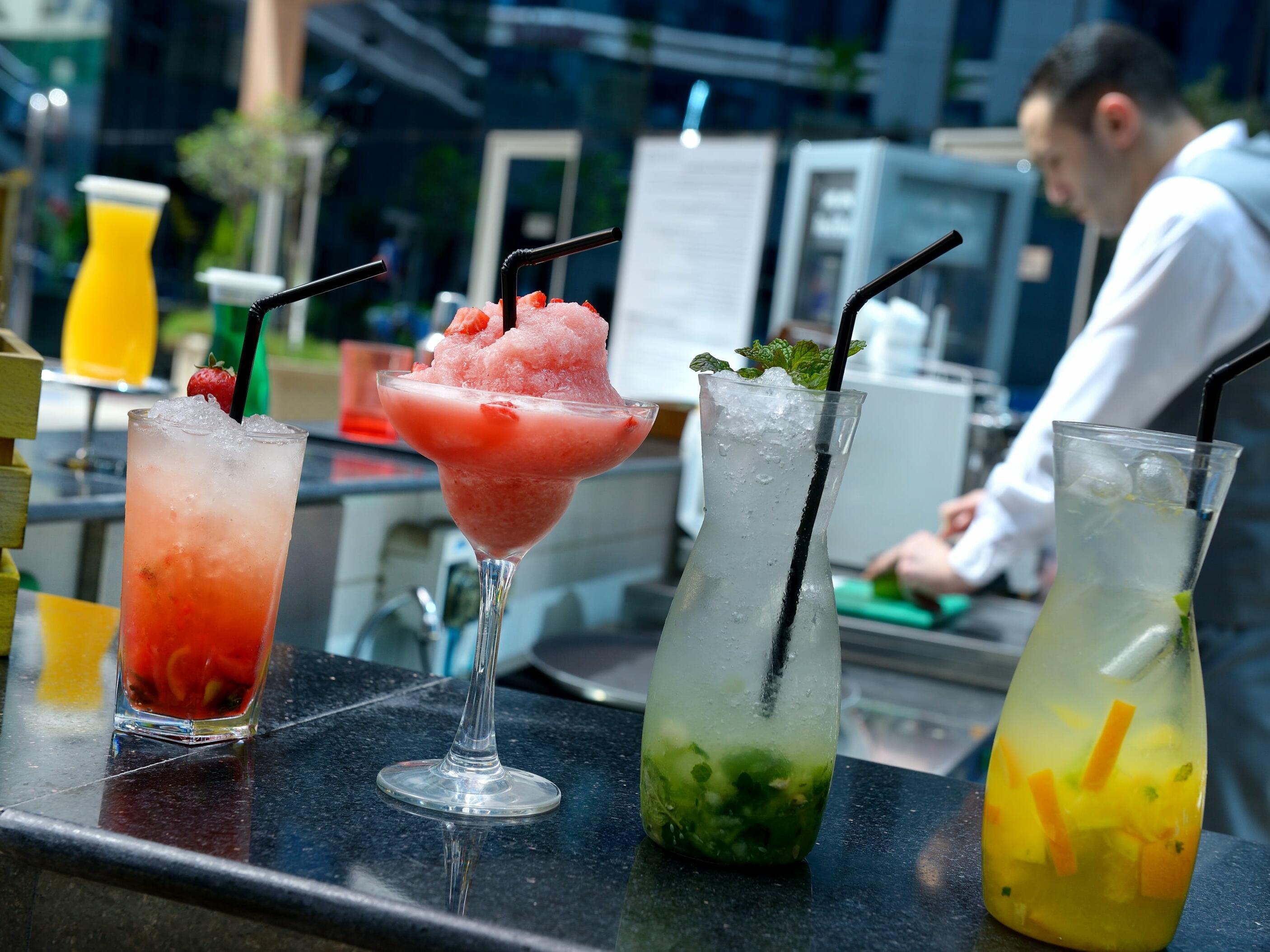 Ghaya Grand Hotel Dubai - Pool Bar Lifestyle Image 1