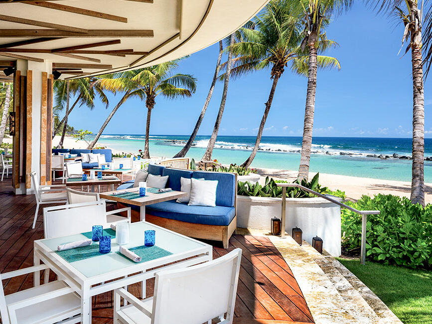 View from Encanto Beach Bar & Grill