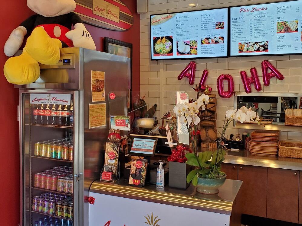 Anytime Hawaiian Café near Grand Legacy at The Park Anaheim