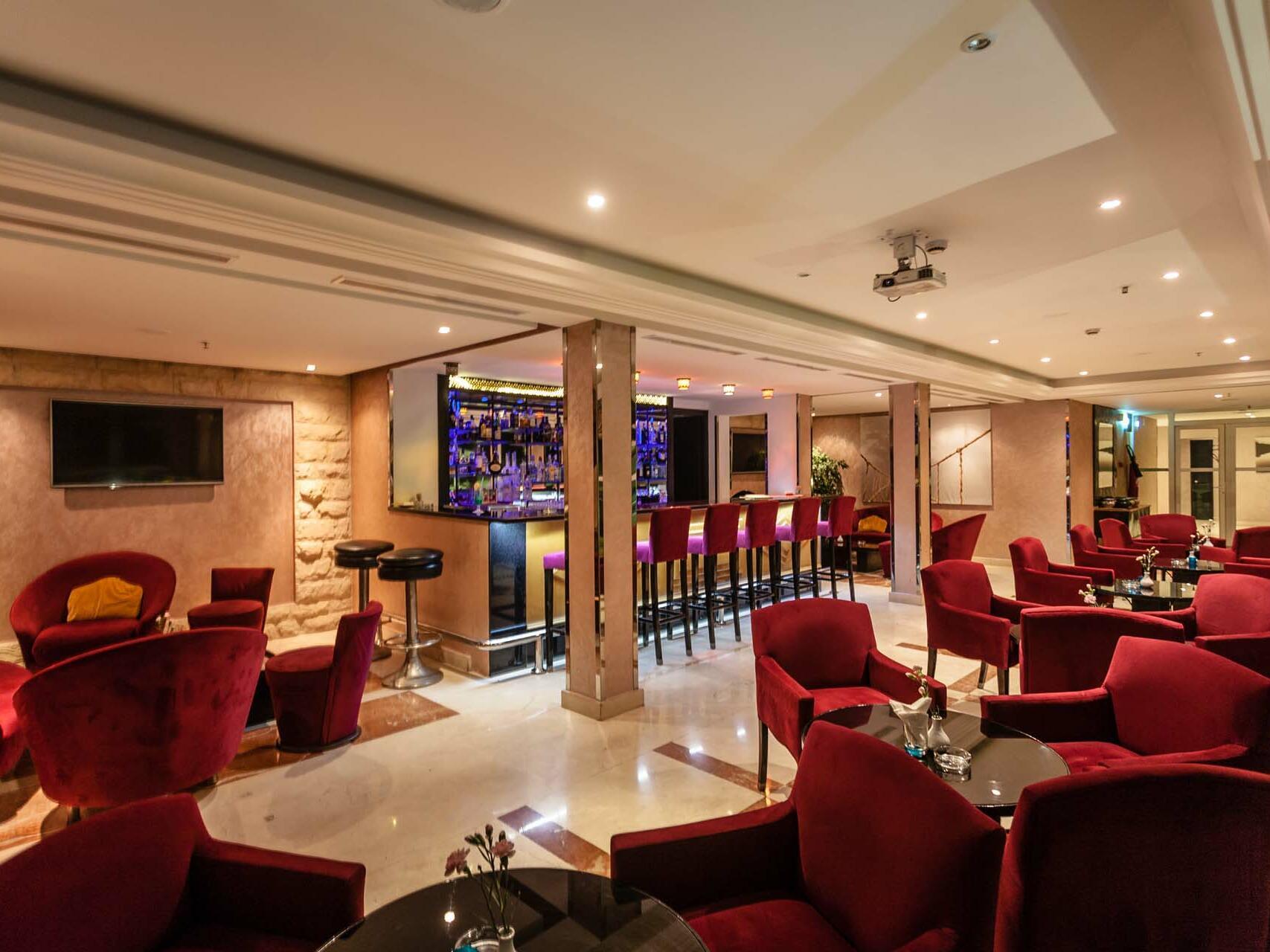 Comfy Chairs - Farah Rabat Hotel