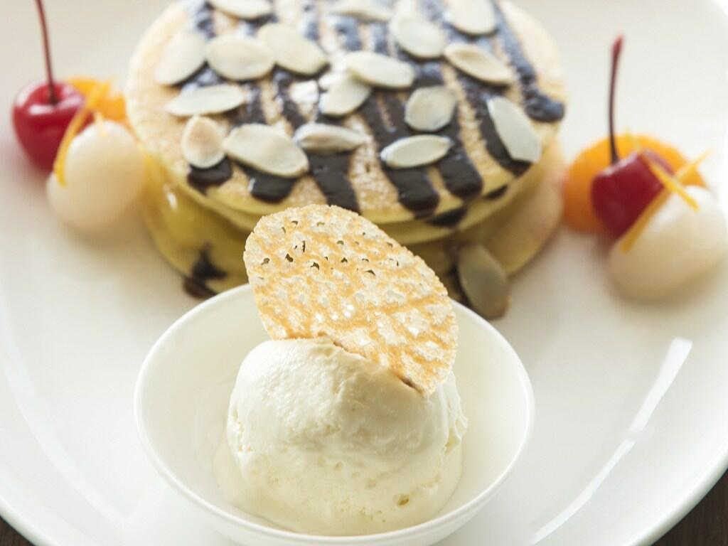 A sweet dish served for in-room dining
