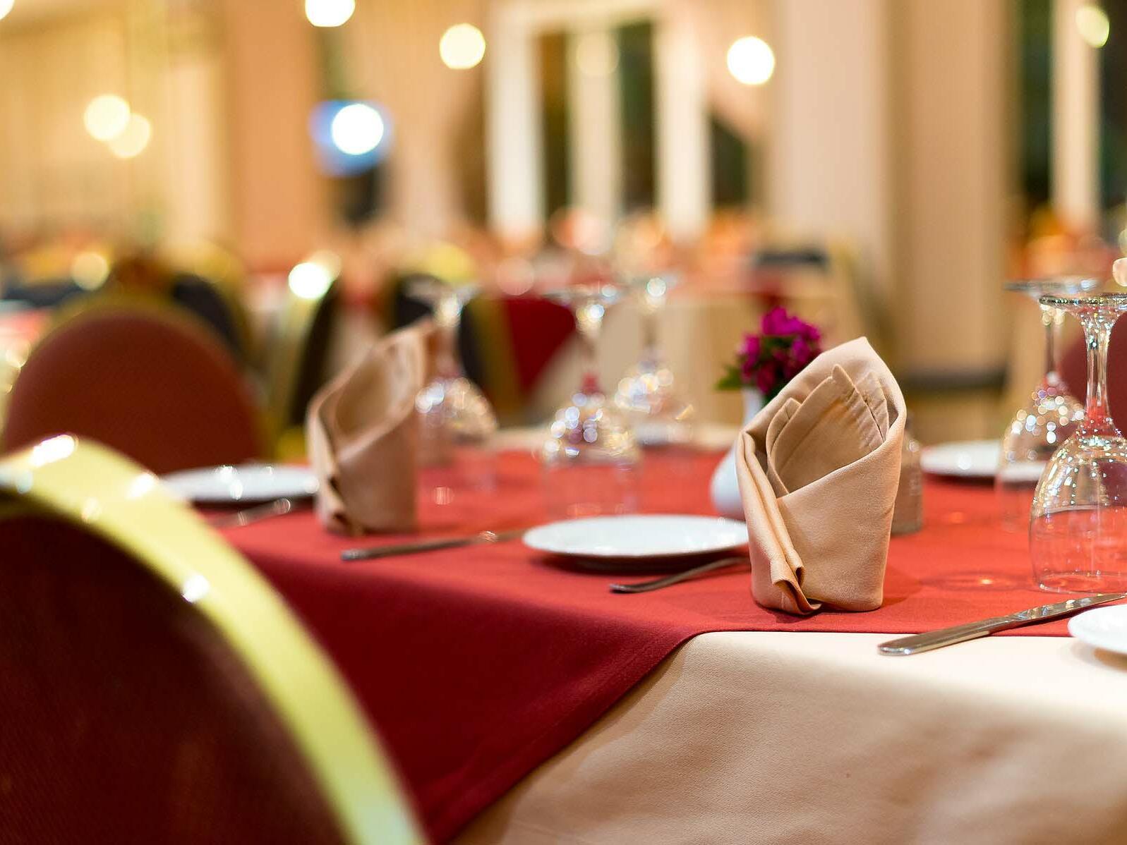 Well Prepared Dining Tables - Farah Marrakech Hotel
