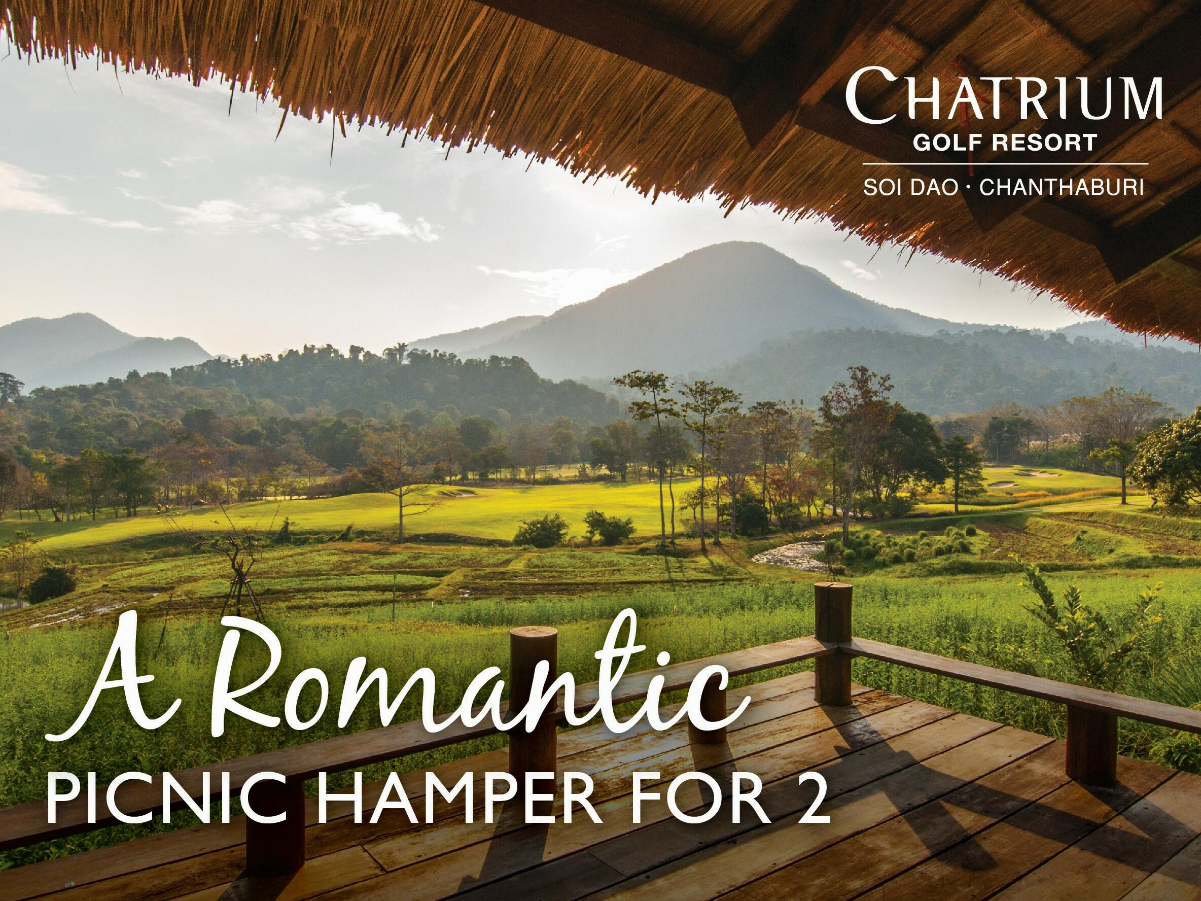 View of Romantic Picnic Hamper at Chatrium Golf Resort Soi Dao