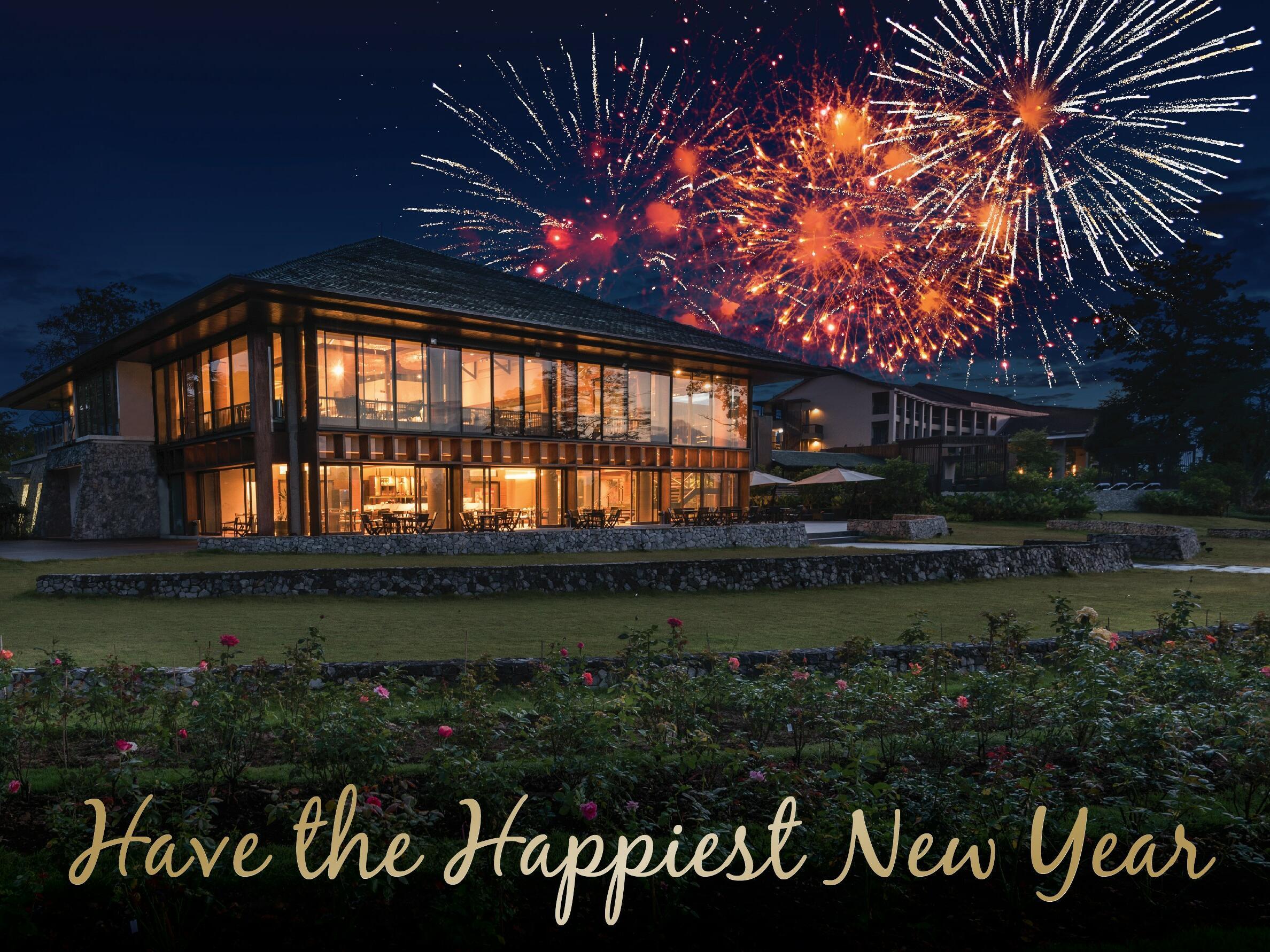 new year festival at Chatrium Golf Resort Soi Dao Chanthaburi