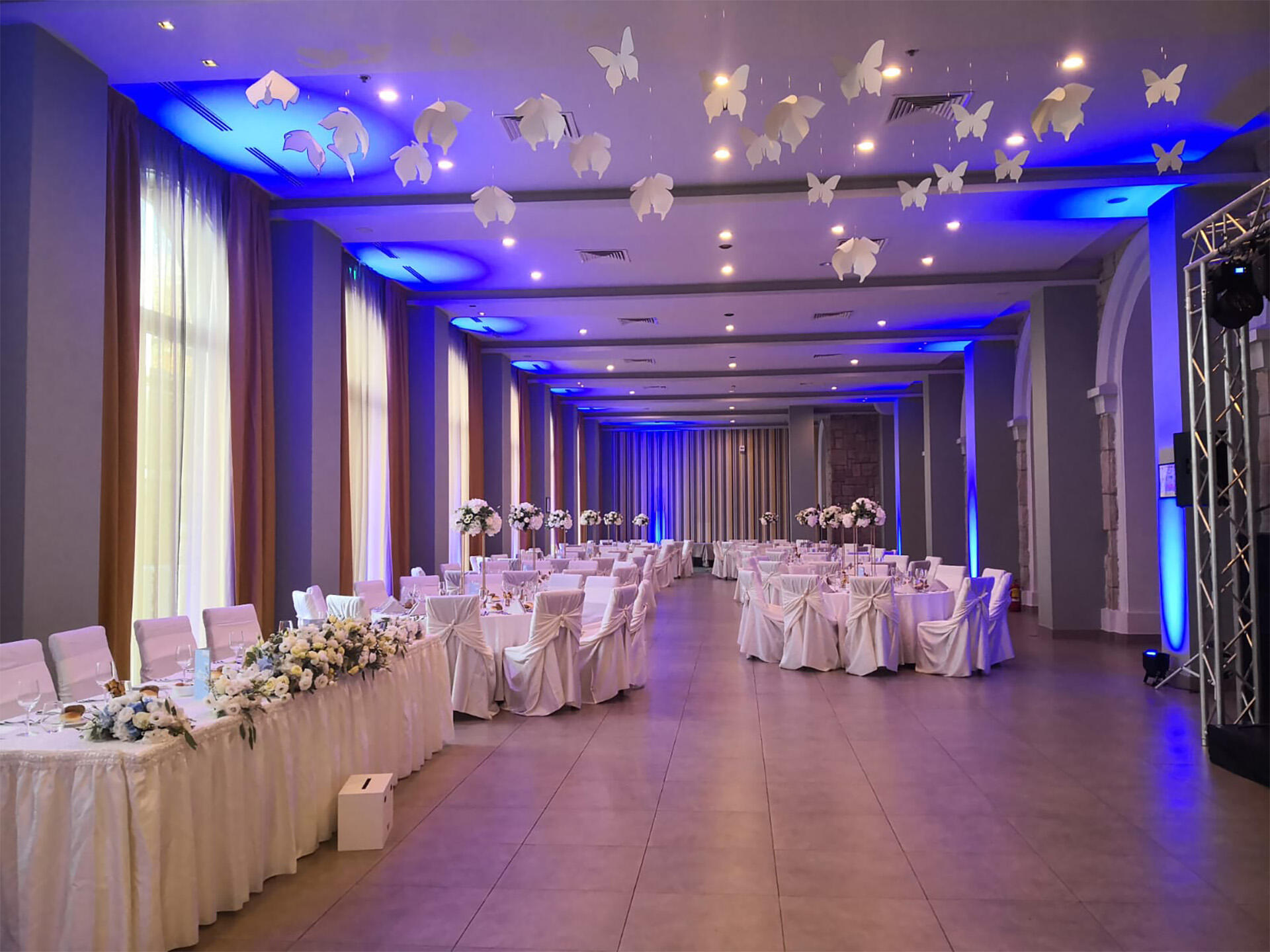 Ballroom at IAKI Conference & Spa Hotel in Mamaia