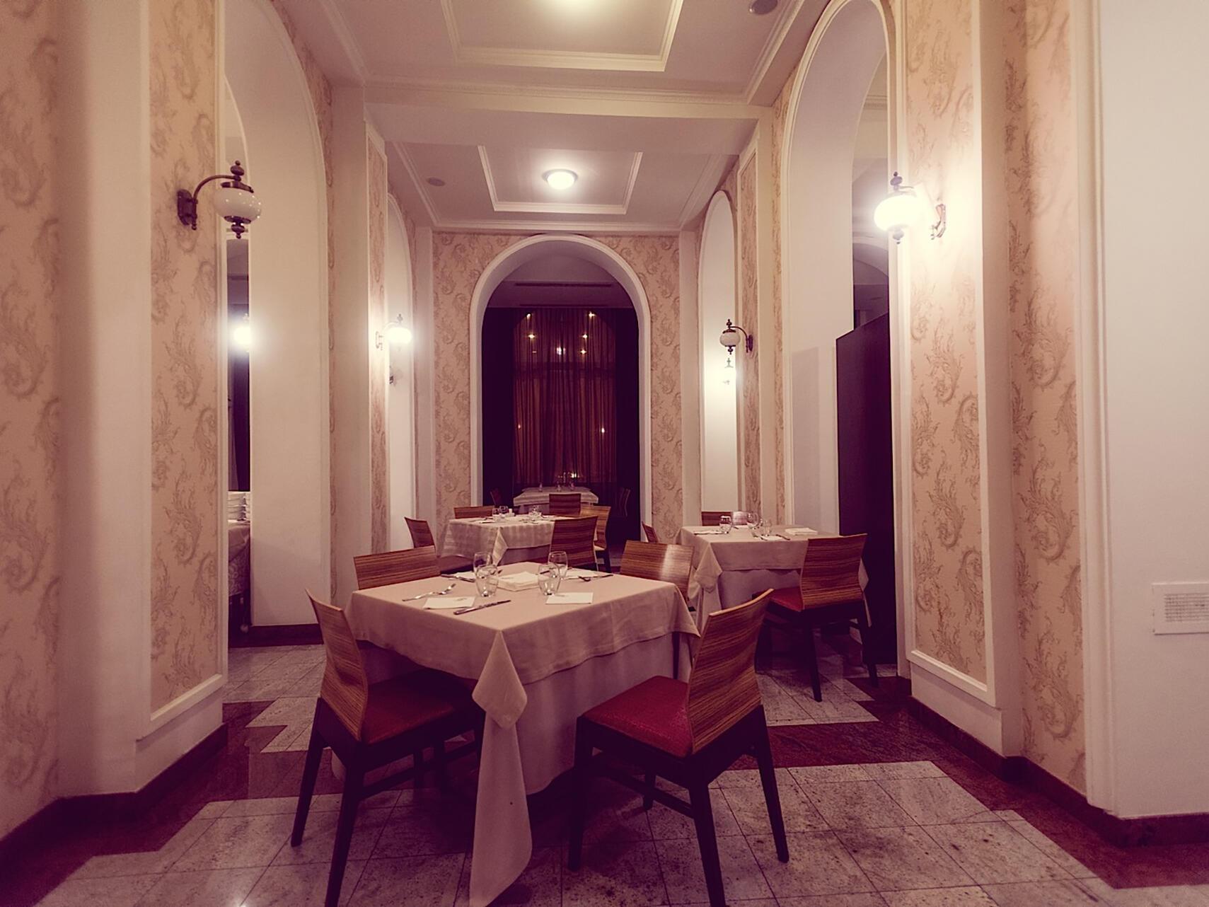 Coriolis Restaurant at IAKI Conference & Spa Hotel in Mamaia