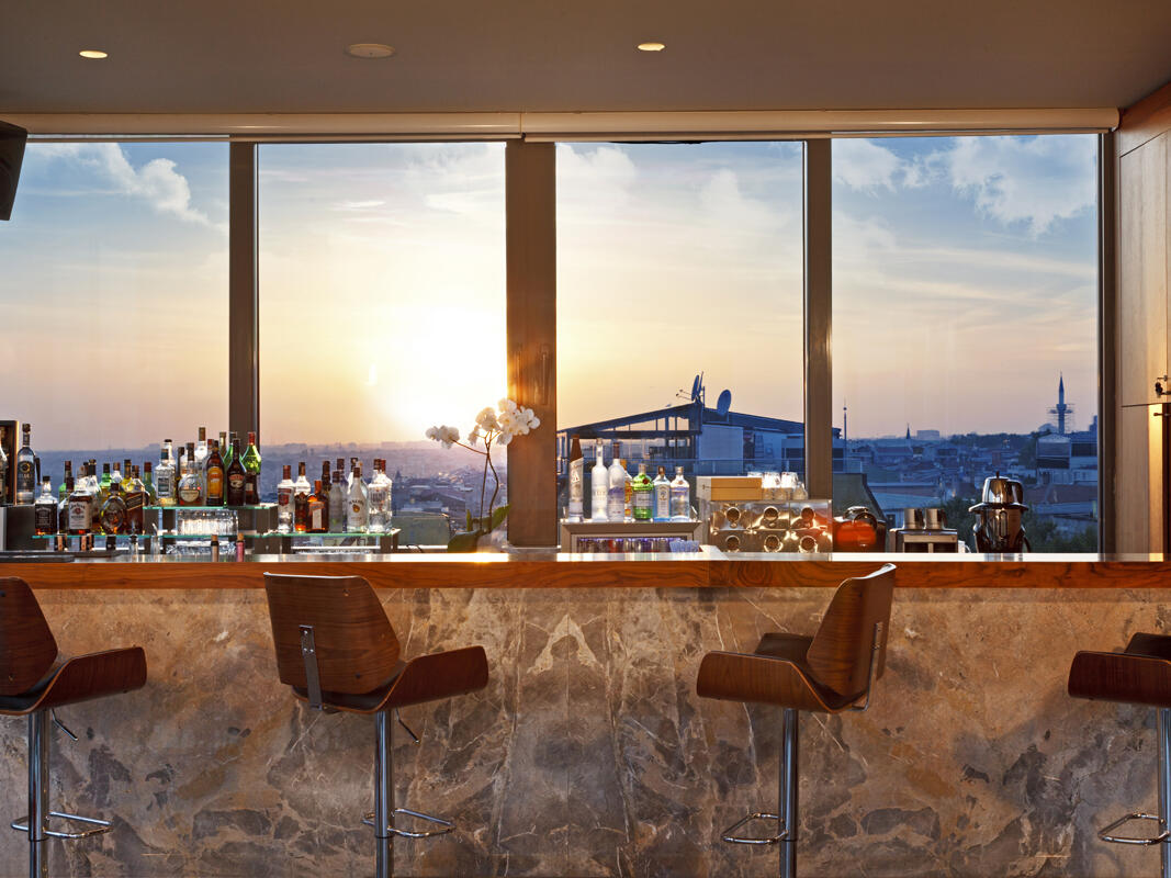 Terrace Bar at Hotel Arcadia Blue Istanbul