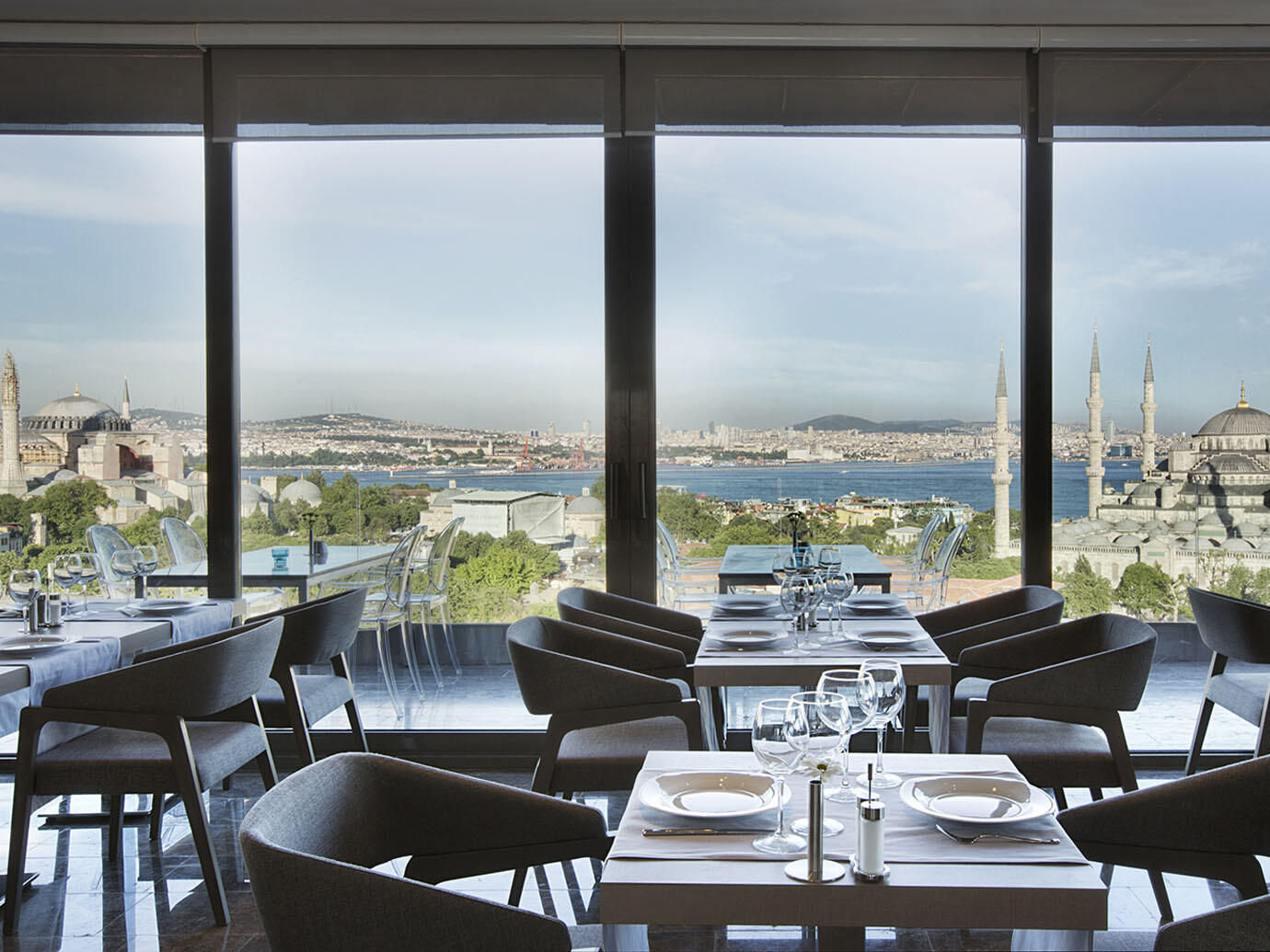 Fine dining at Hotel Arcadia Blue Istanbul