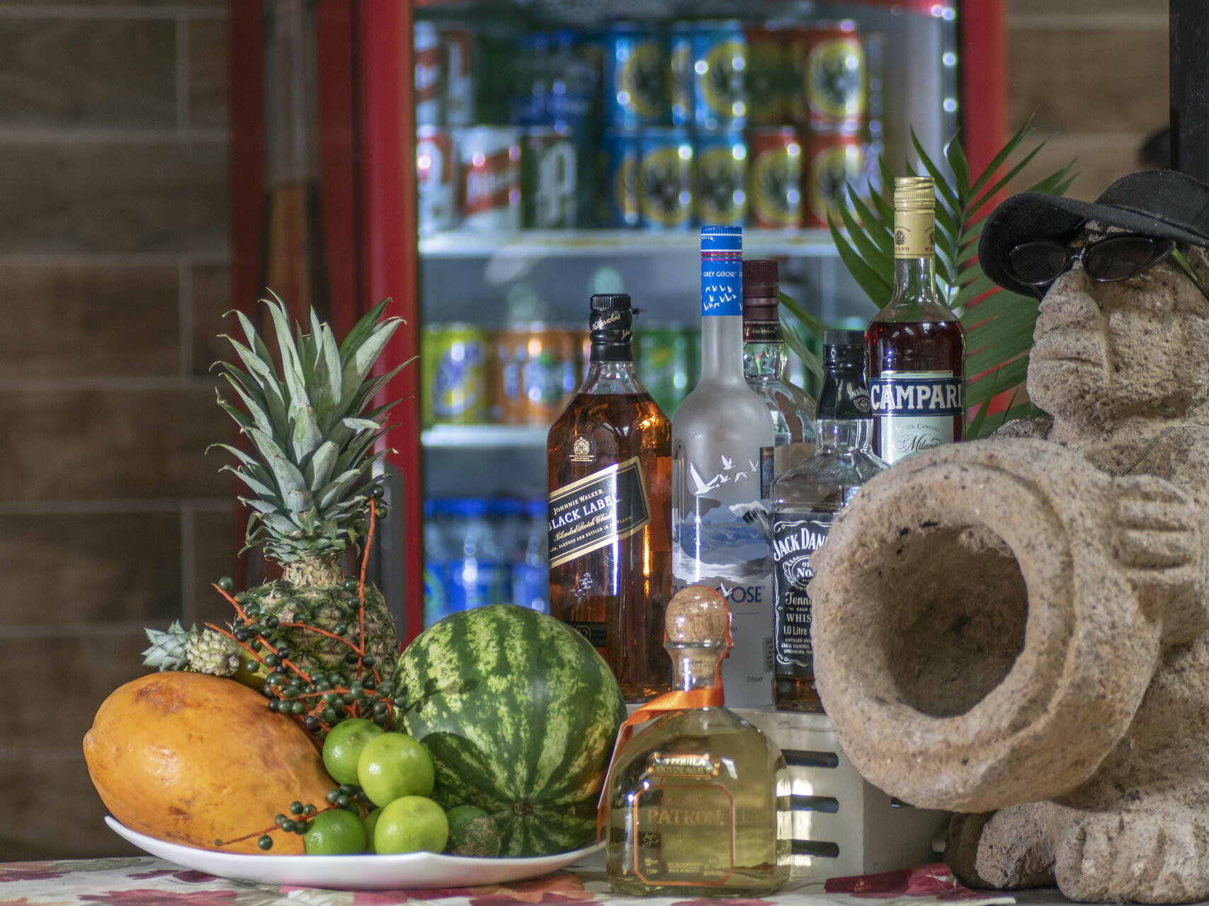 Beverages and Fruits on a Table  at Buena Vista Del Rincon