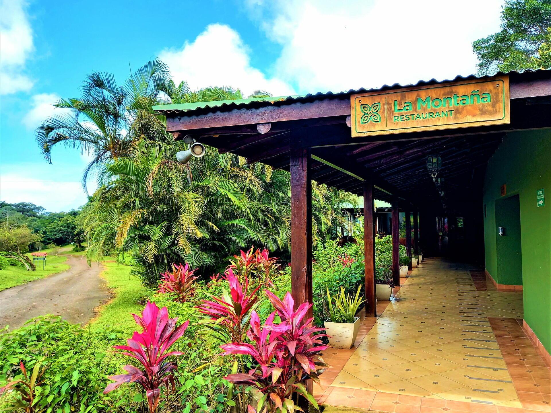 Pathway to a Restaurant with Plants at Buena Vista Del Rincon