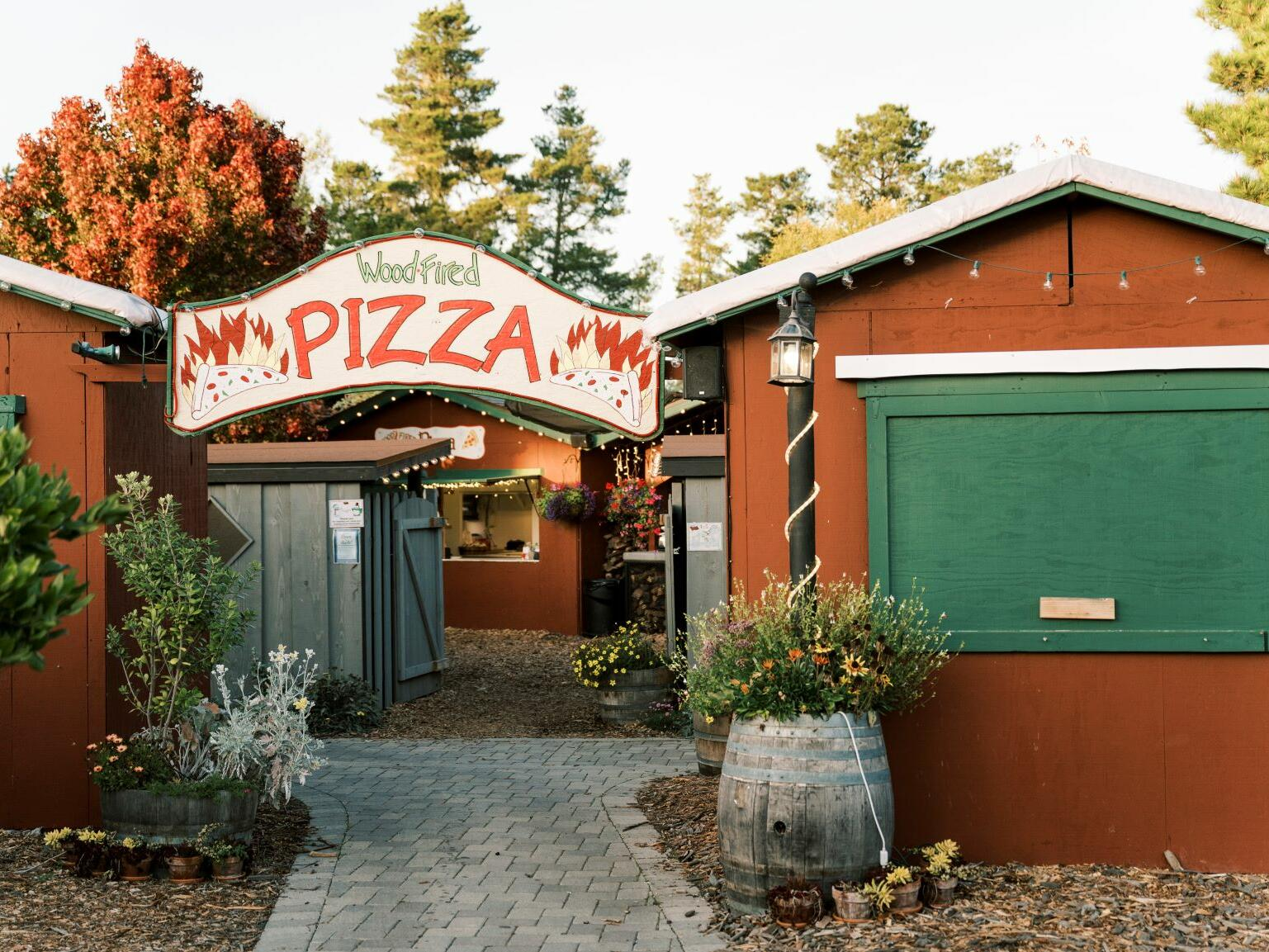 Exterior of the Pizza Nook