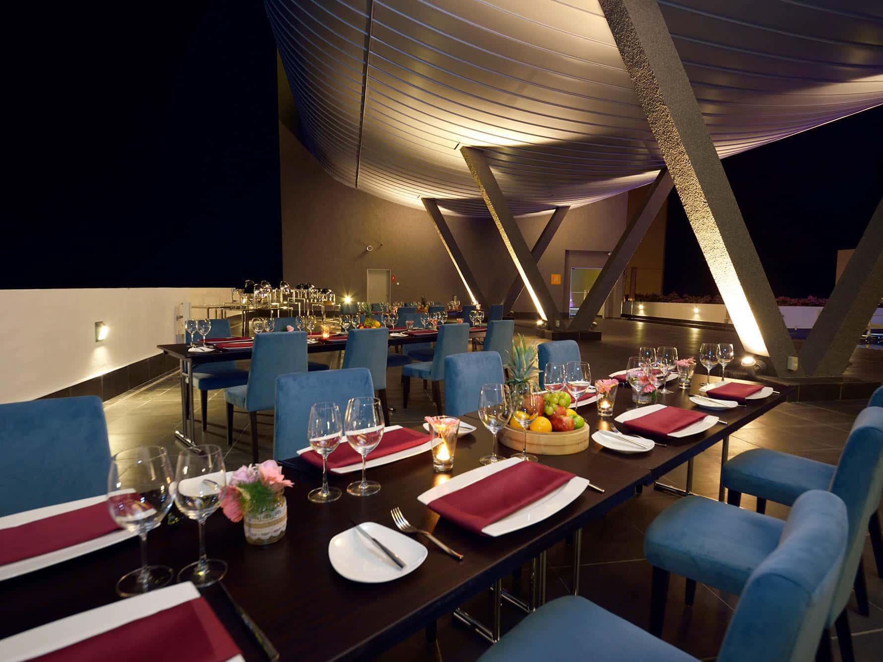 Sky Terrace Restaurant Dining Area 1