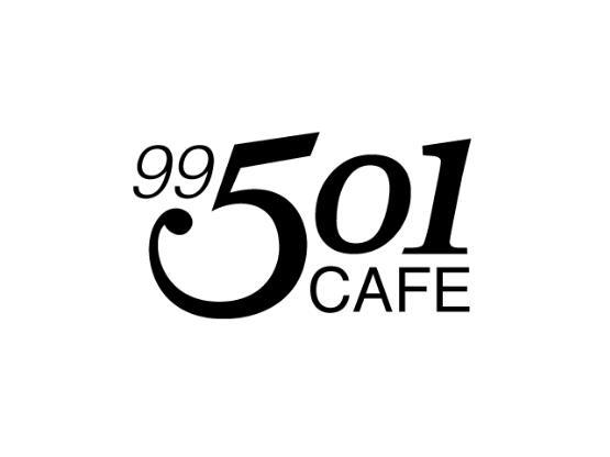 99 501 Café  Logo