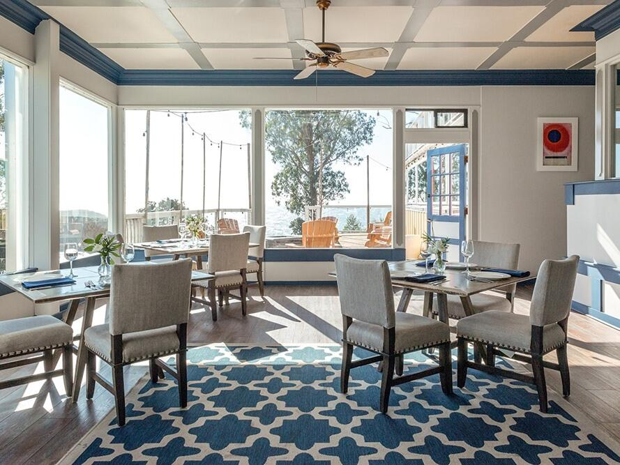 Dining area in 5200 restaurant at  The Heritage House Resort