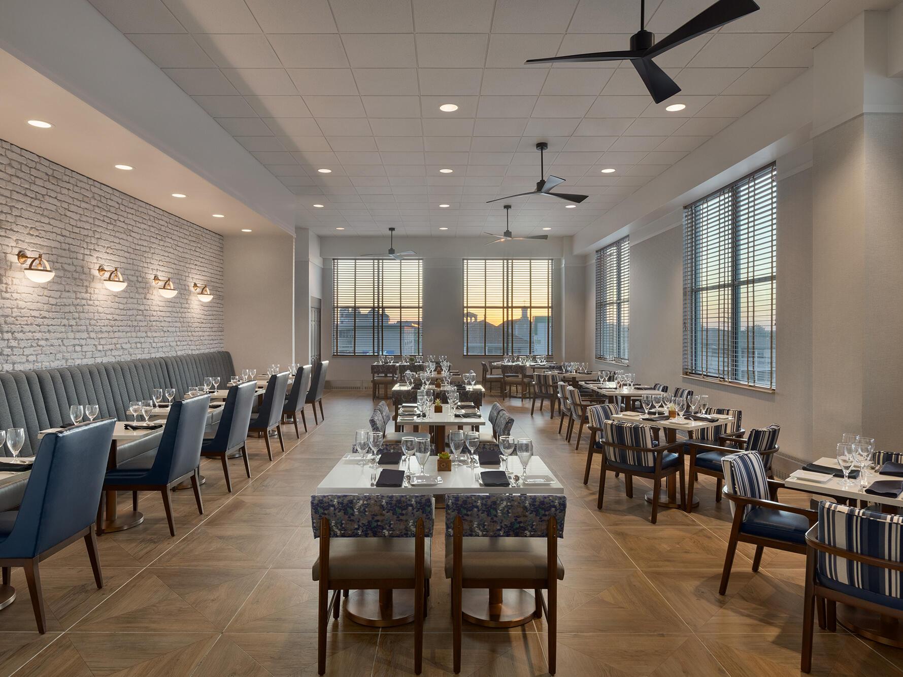 coral reef dining room