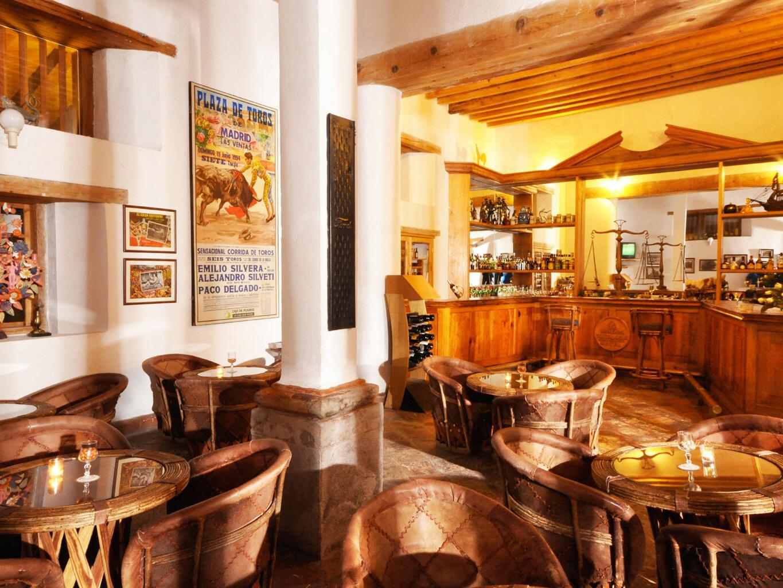 Interior of Casco Viejo bar at Hacienda Cantalagua