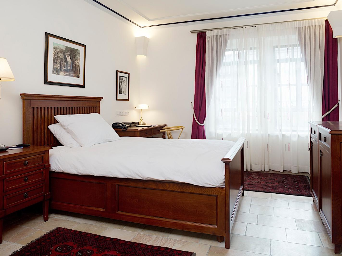 Single Standard Room at American Colony Hotel in Jerusalem
