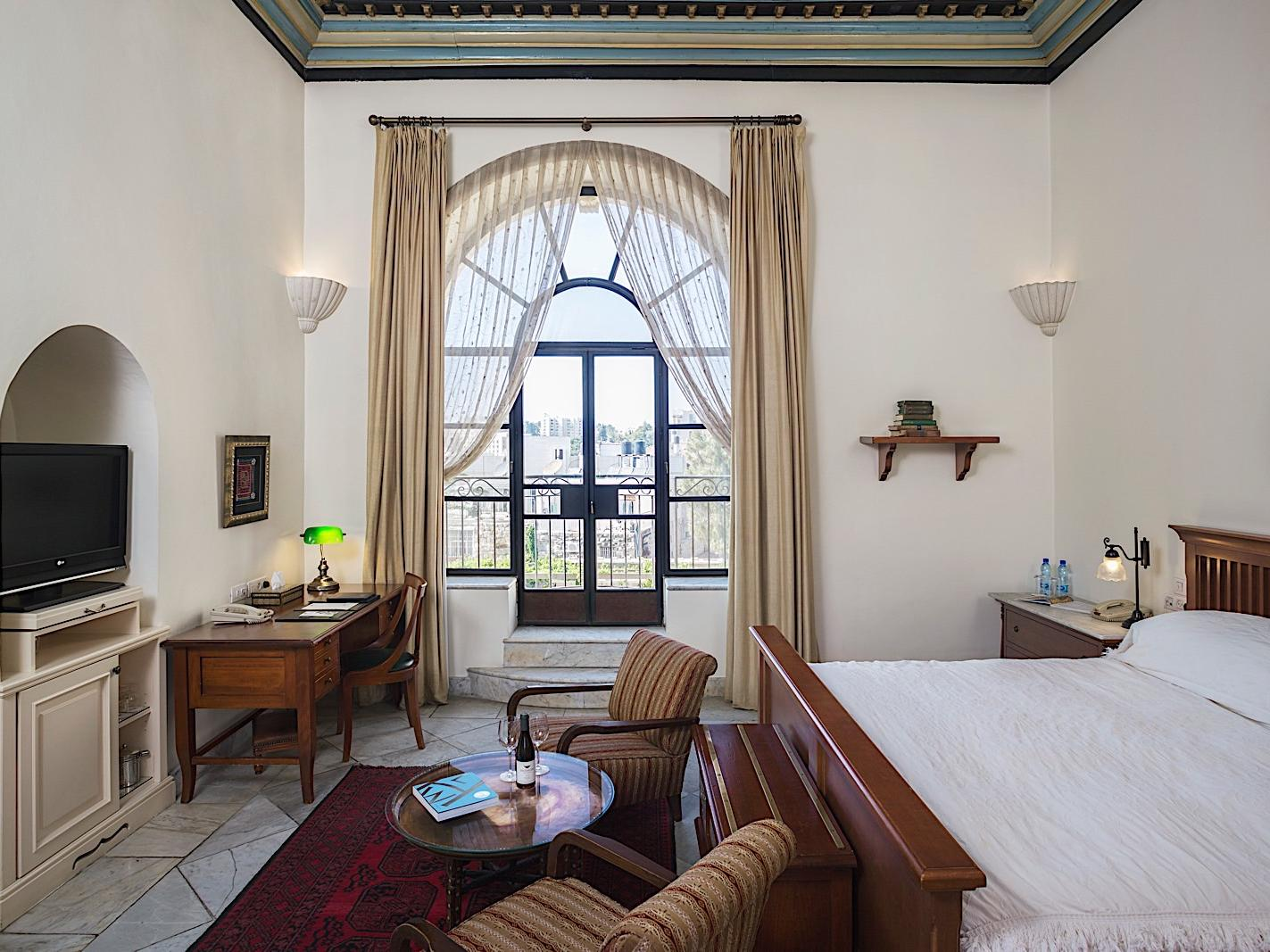 Deluxe Pasha Room at The American Colony Hotel in Jerusalem