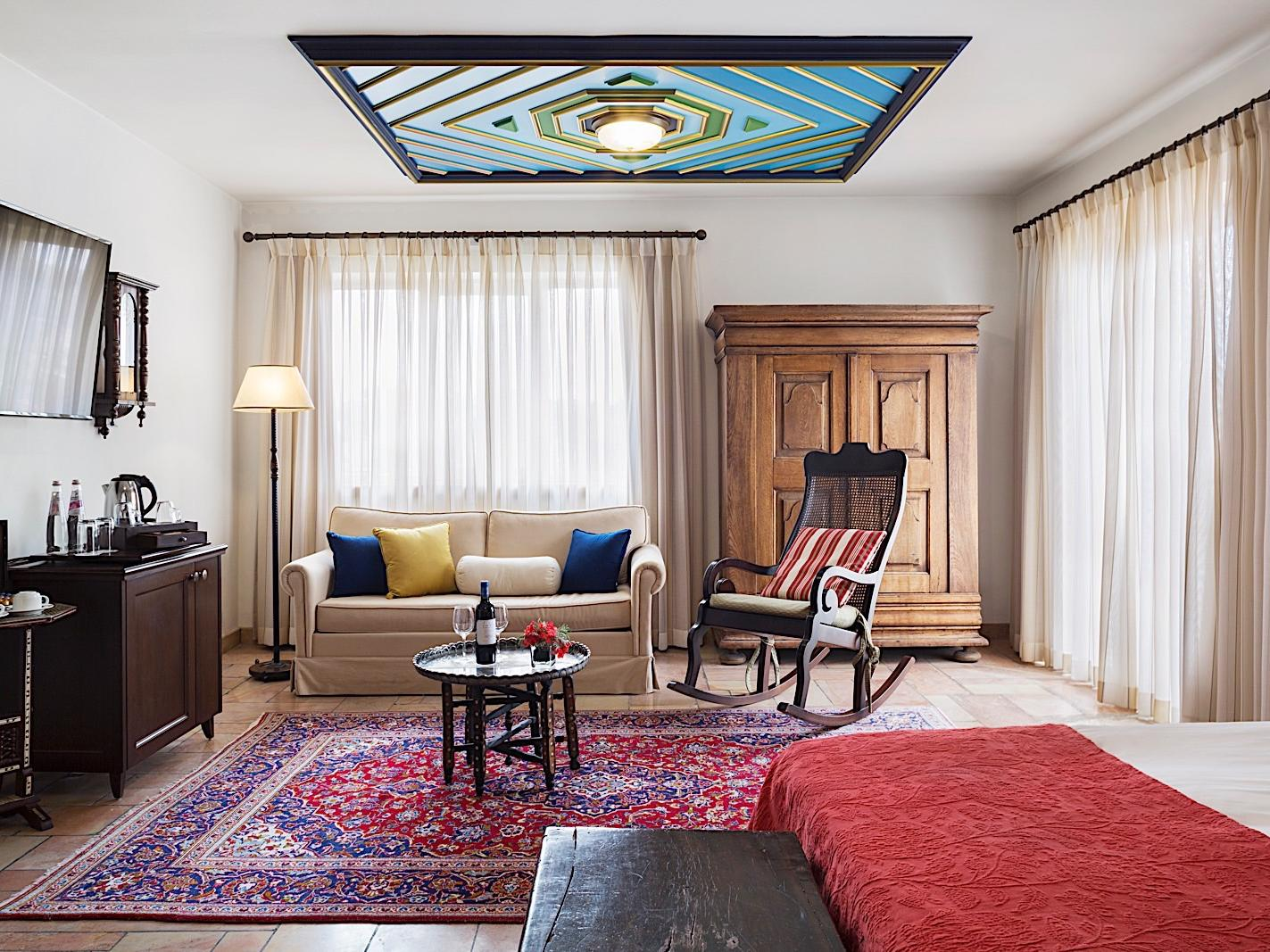 Junior Suite at The American Colony Hotel in Jerusalem