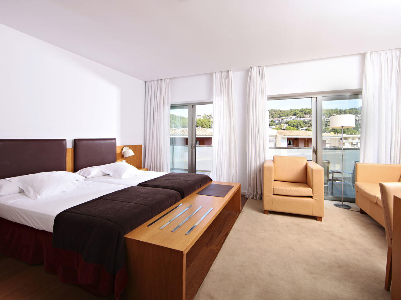 Superior room at Aimia Hotel in Port de Sóller, Majorca