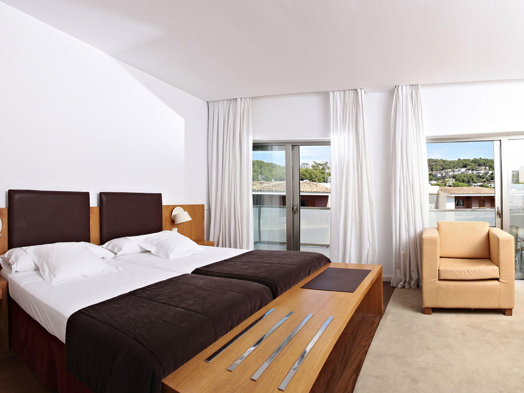 Superior Room with lateral sea view at Aimia Hotel in Port de Sóller, Majorca