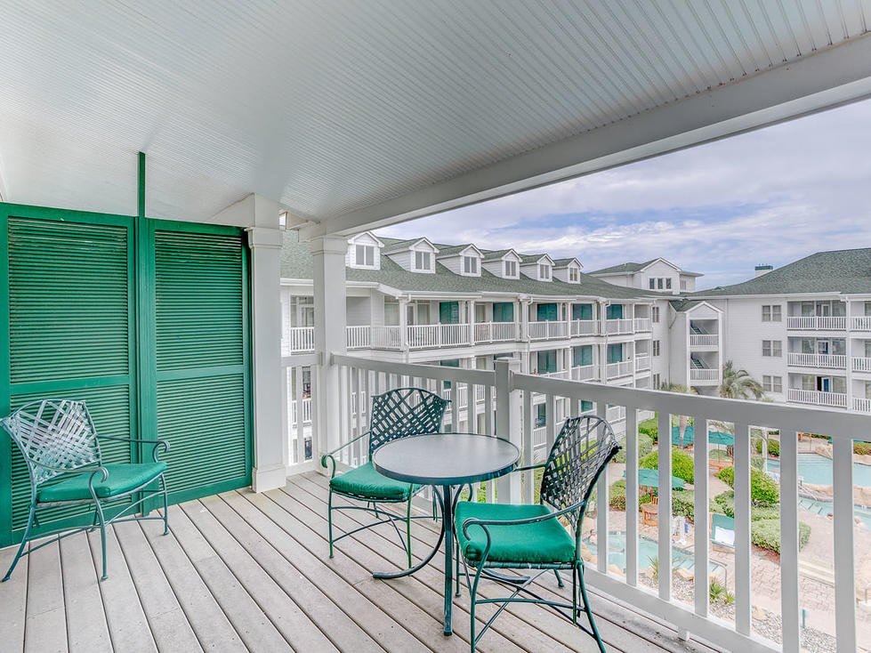 One Bedroom Suite balcony