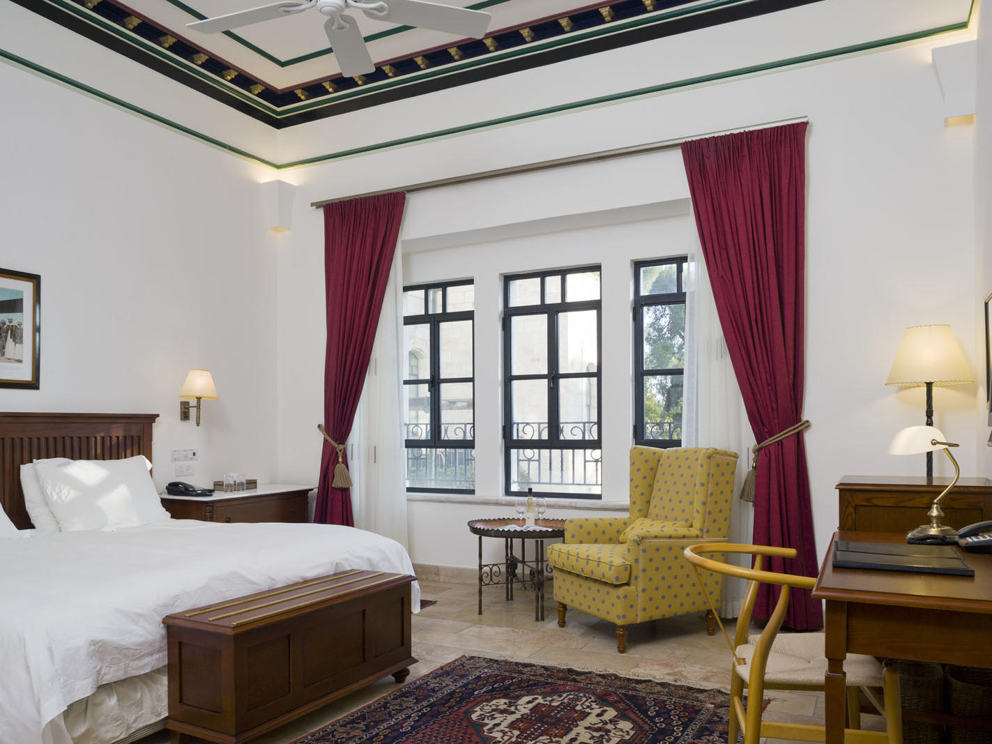 Classic Pasha Room at The American Colony Hotel in Jerusalem